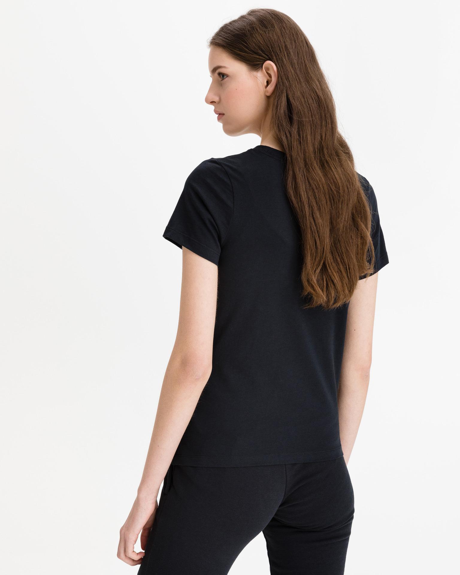Converse black women´s T-shirt Multi Star Chuck Patch
