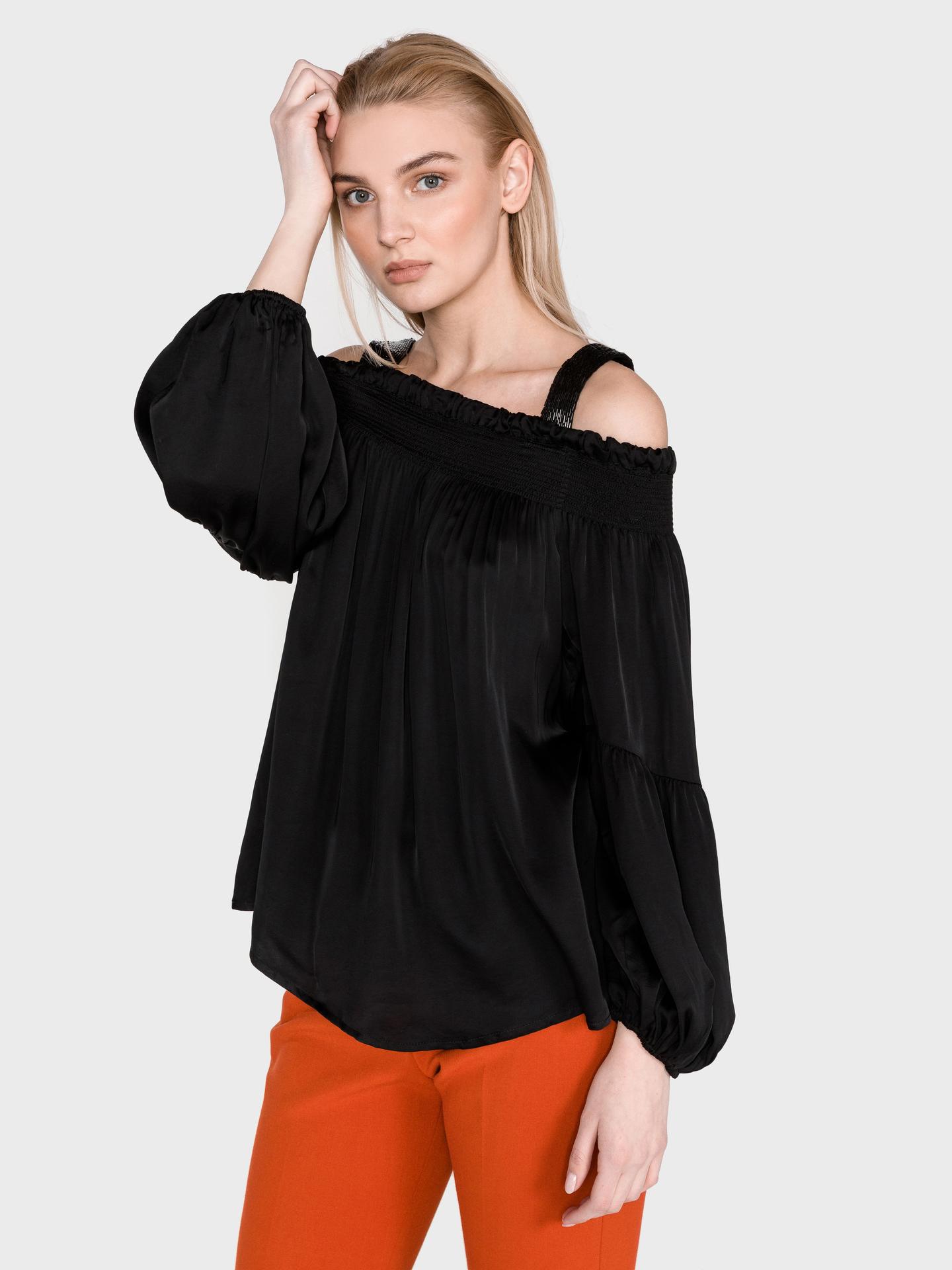 Guess black blouse