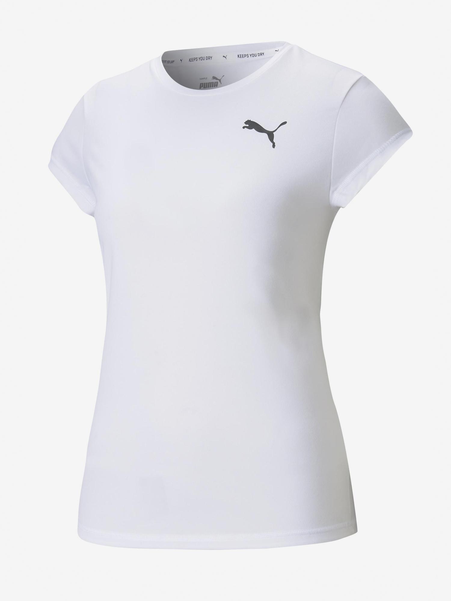 Puma white women´s T-shirt Active
