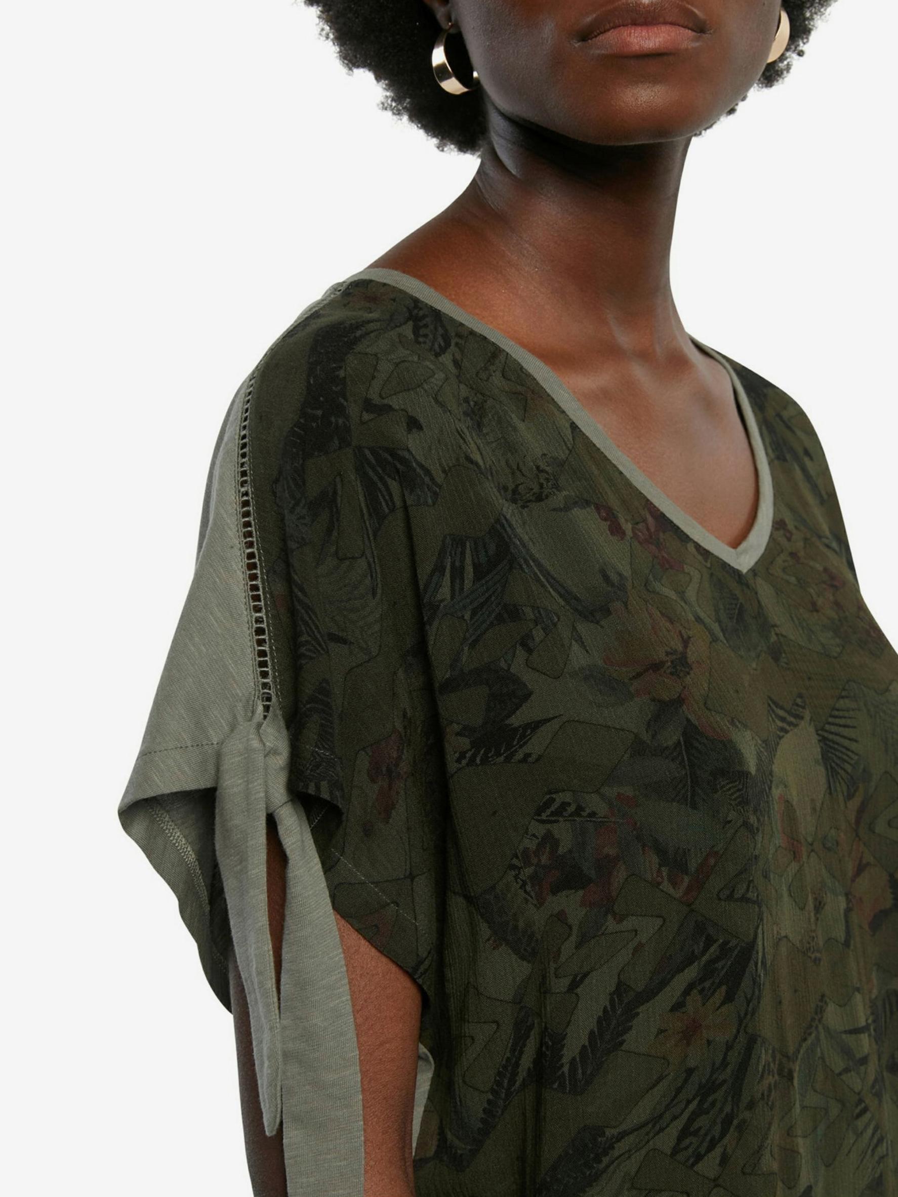 Desigual green blouse Staten Island