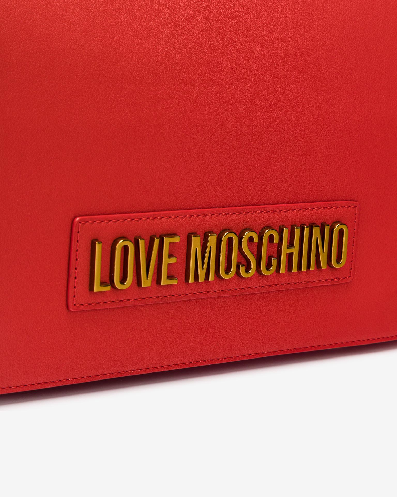 Love Moschino red handbag