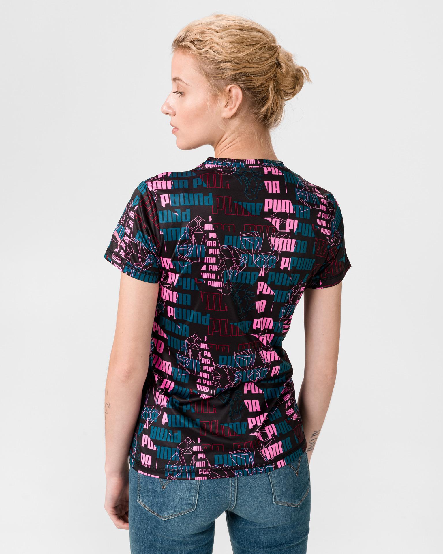 Puma Performance AOP T-shirt Black