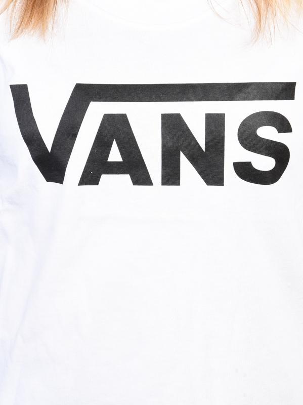 Vans white top Vans FLYING V MUSCLE SCOO