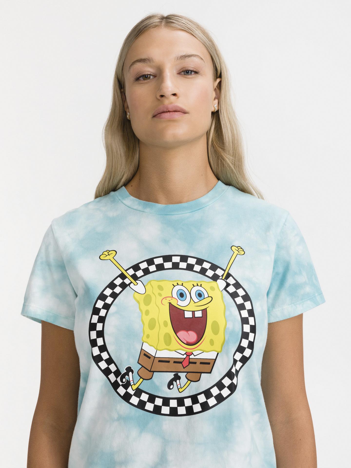 Vans blue T-shirt SpongeBob