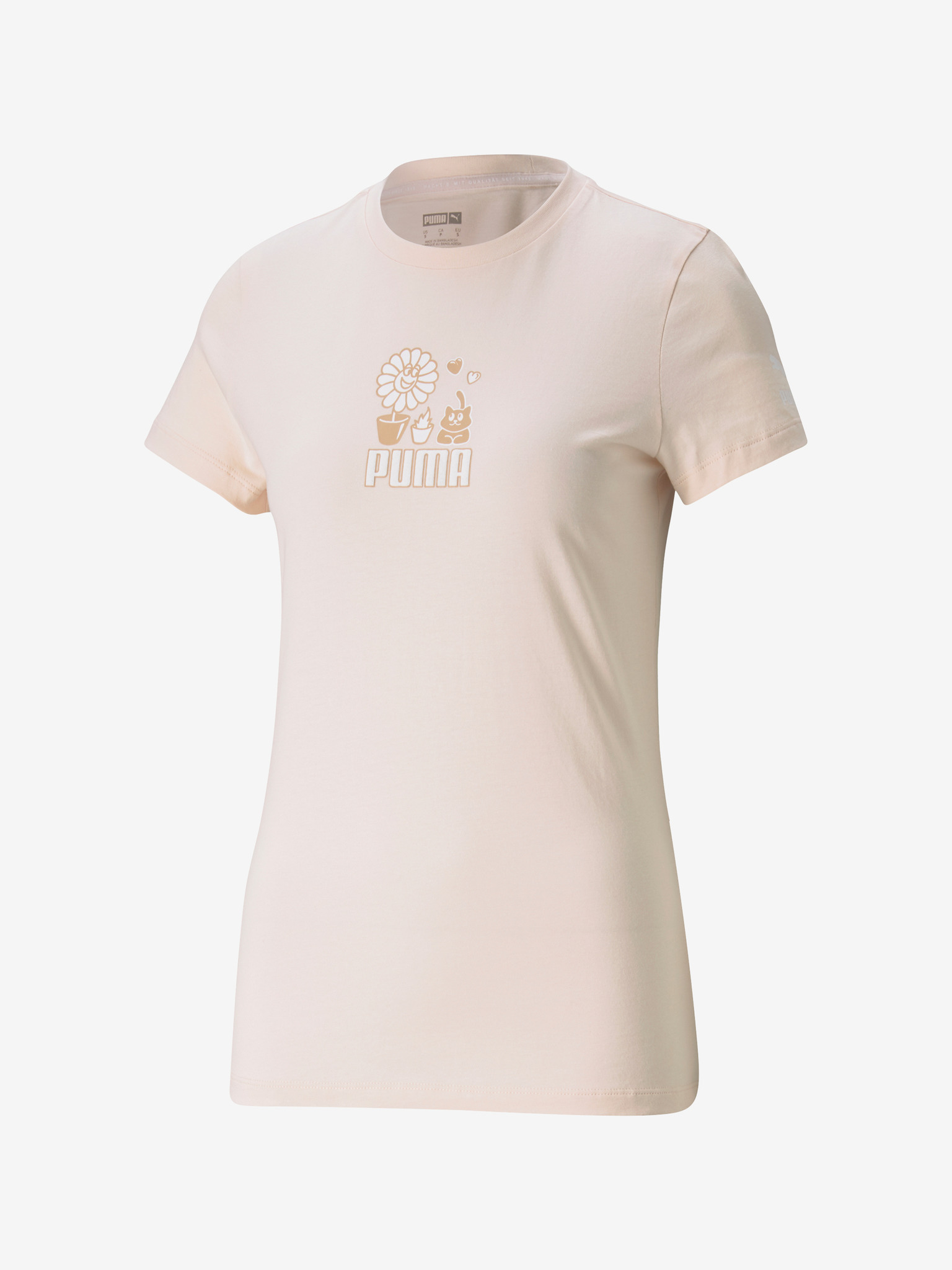 Puma Graphic Streetwear T-shirt Pink