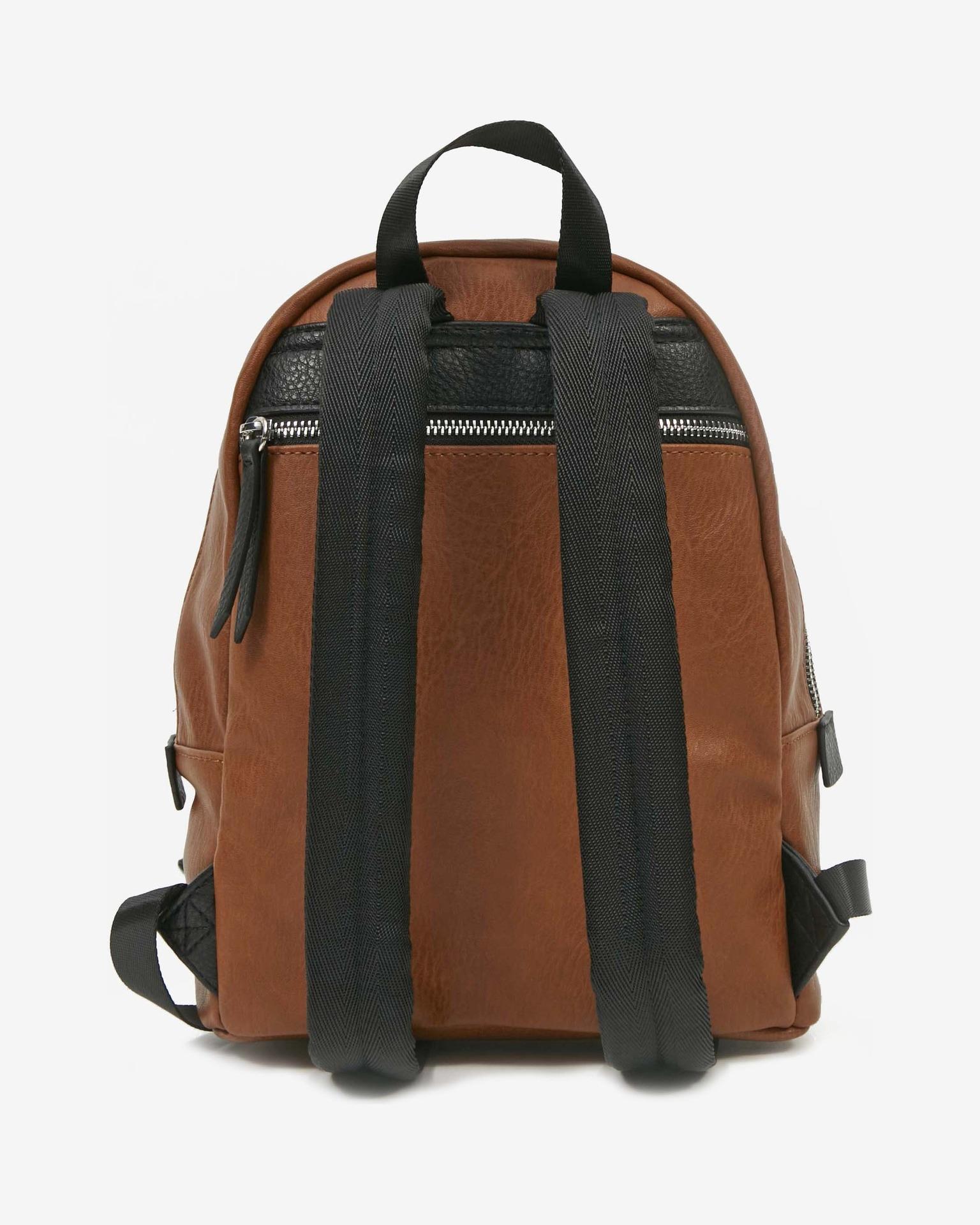 Desigual brown backpack Back Embossed Half Mombas