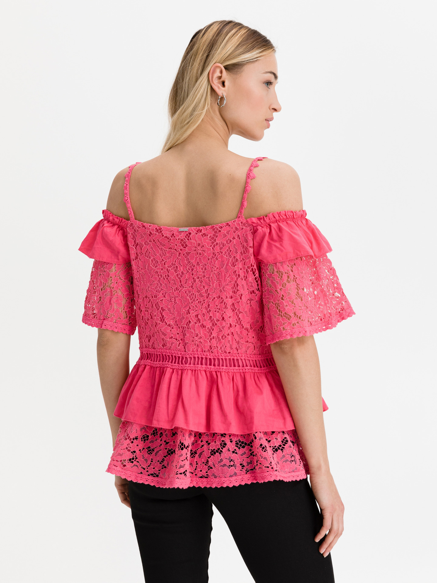 Guess pink women´s blouse New Olimpia