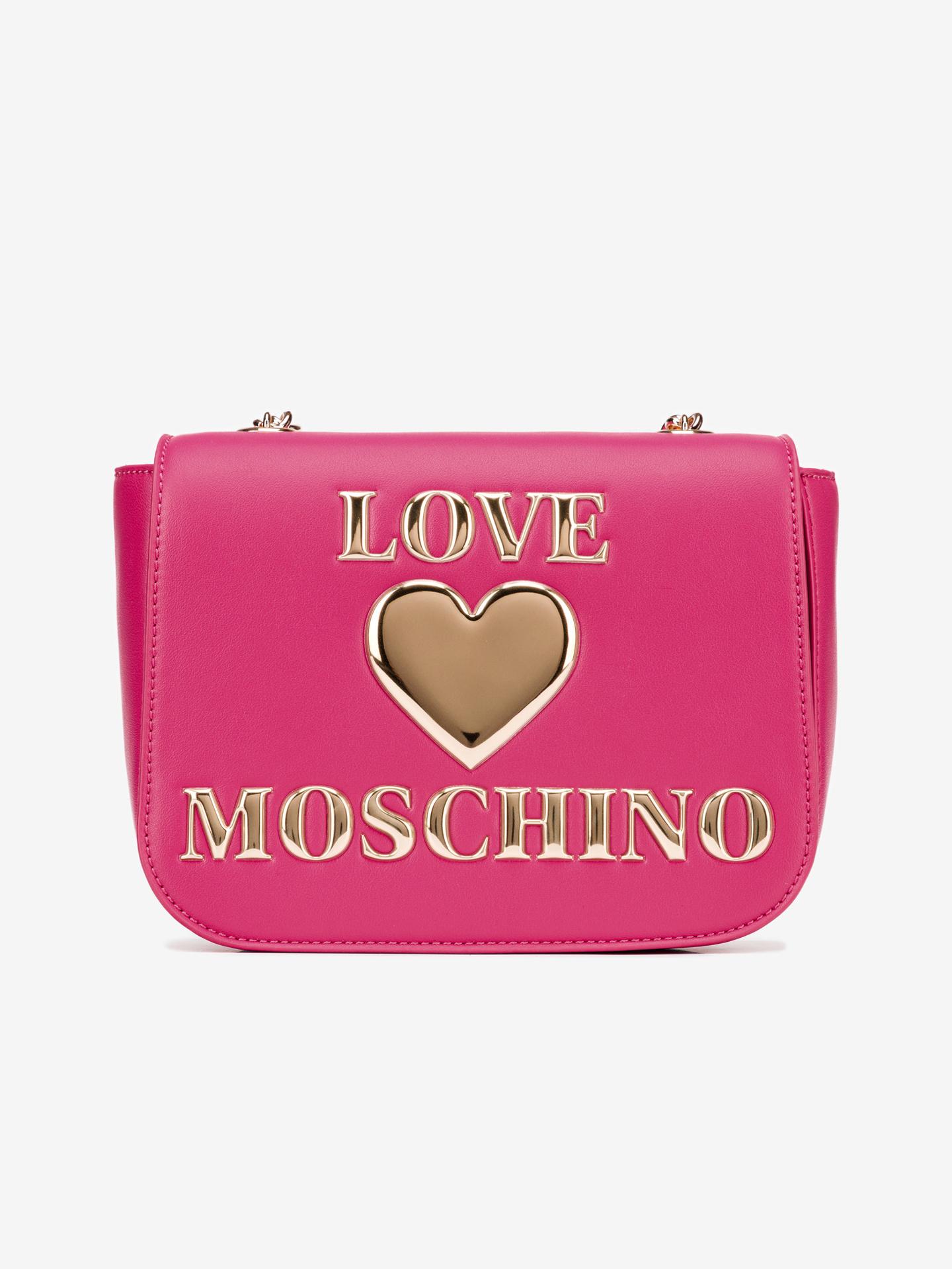 Love Moschino pink crossbody handbag
