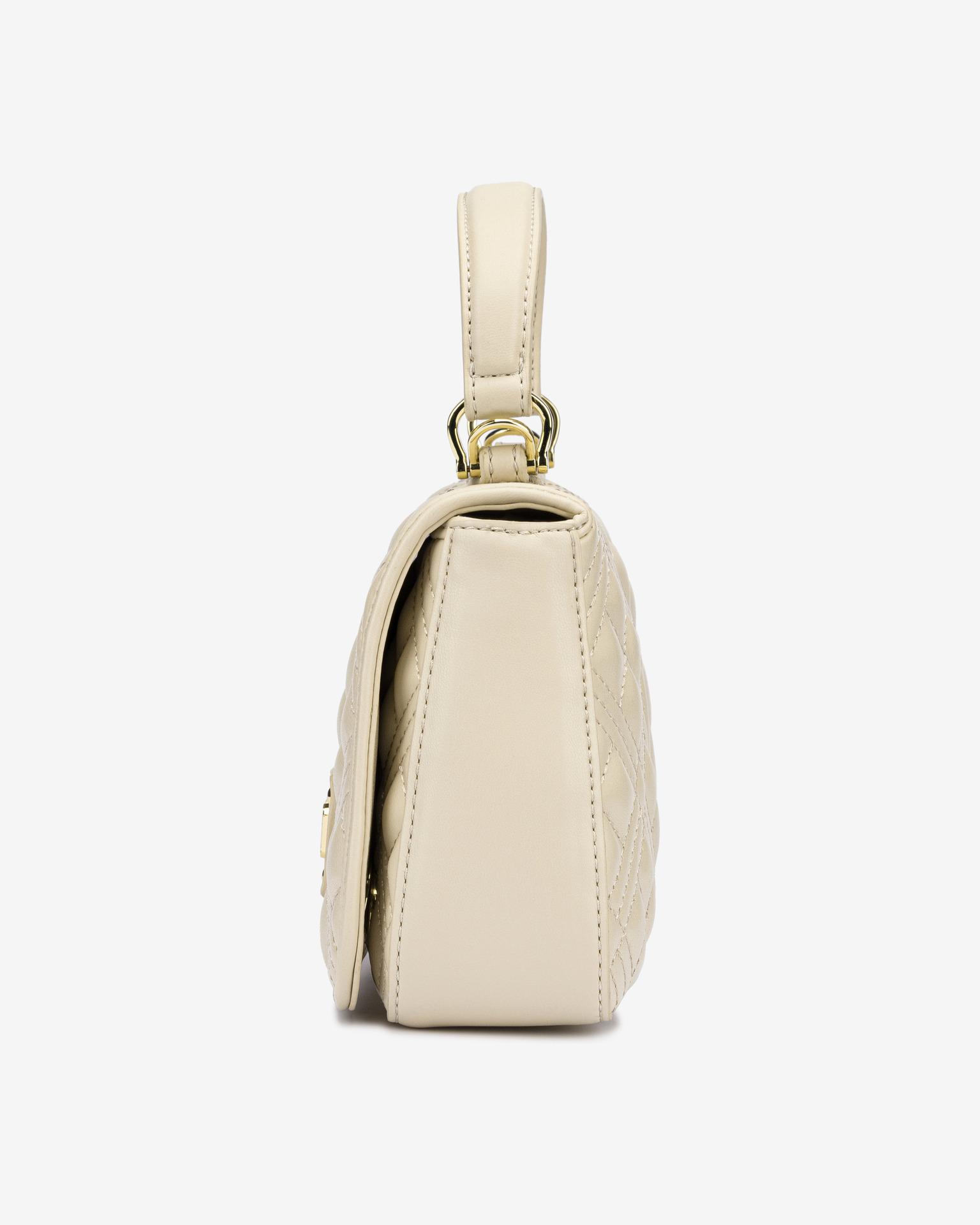 Love Moschino beige handbag