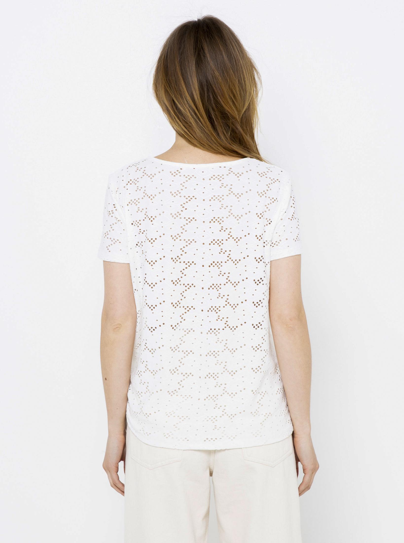 CAMAIEU Women's blouse white