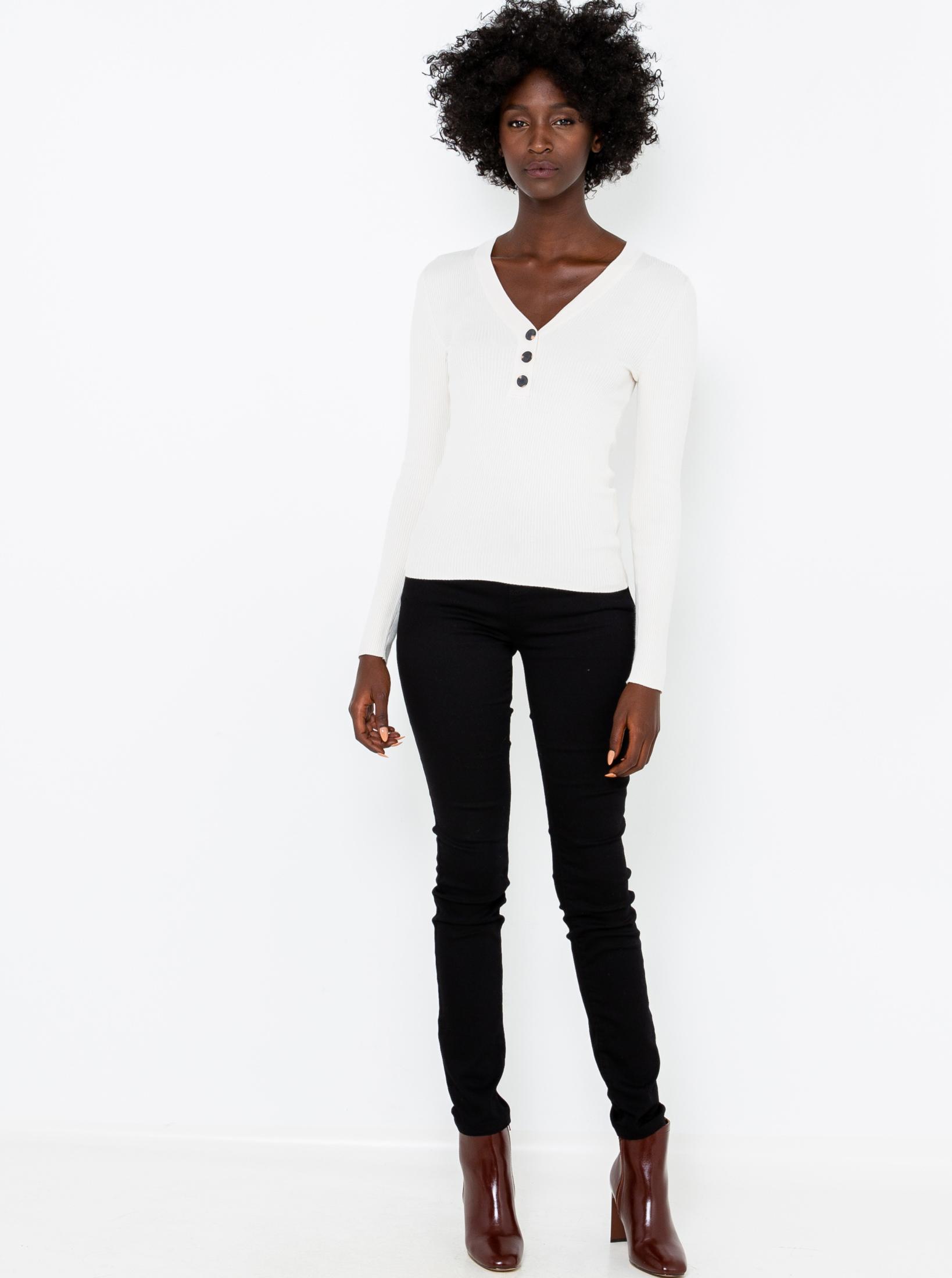 CAMAIEU white women´s T-shirt