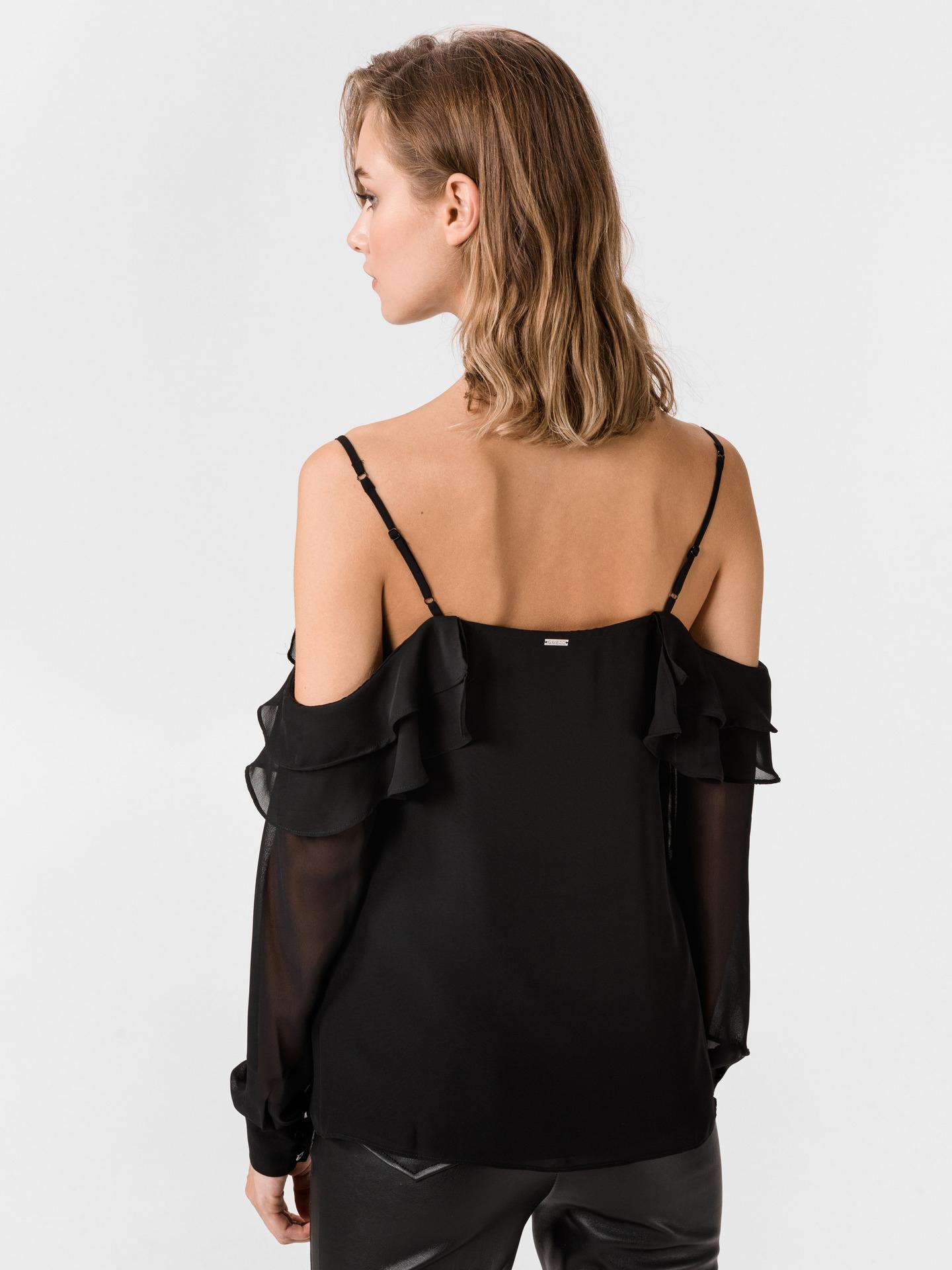 Guess black women´s blouse Violetta