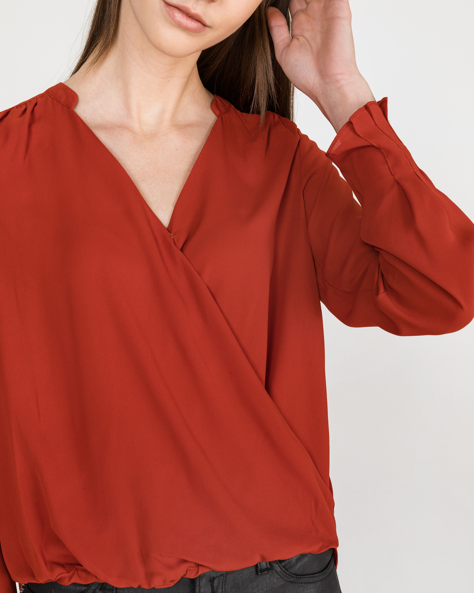 Scotch & Soda Women's blouse red