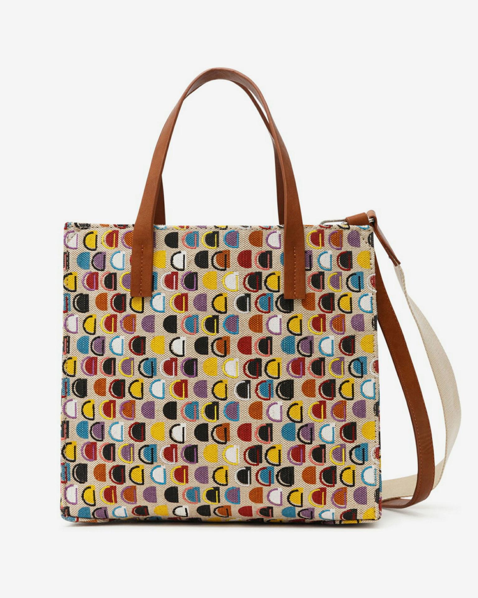 Desigual Dynamic D Merl Cross body bag Colorful