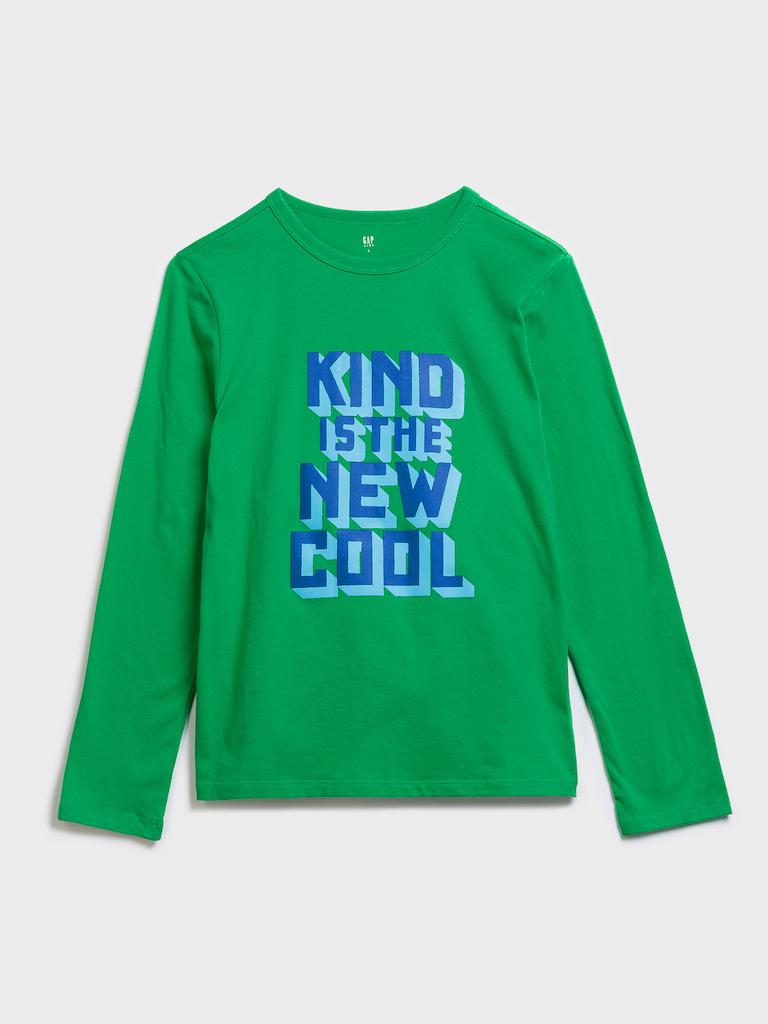 GAP Boys t-shirt green