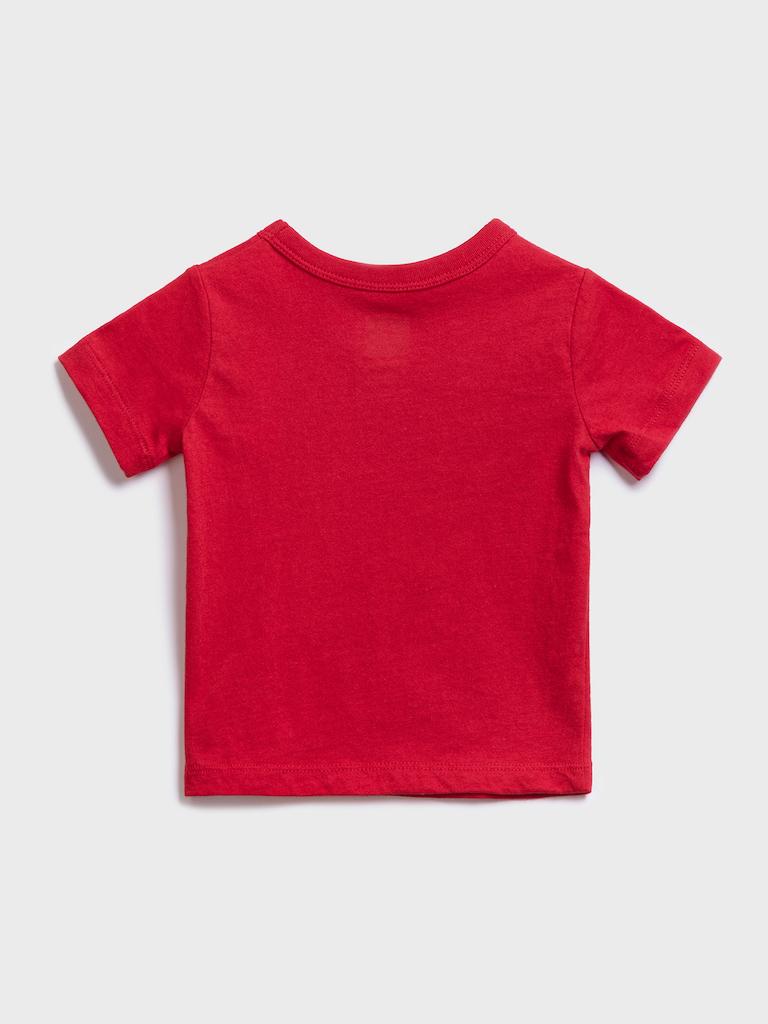 GAP Boys t-shirt red
