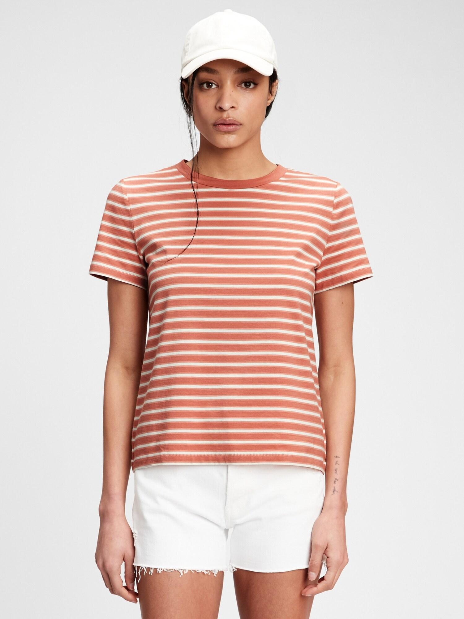 GAP brown striped T-shirt Organic Vintige