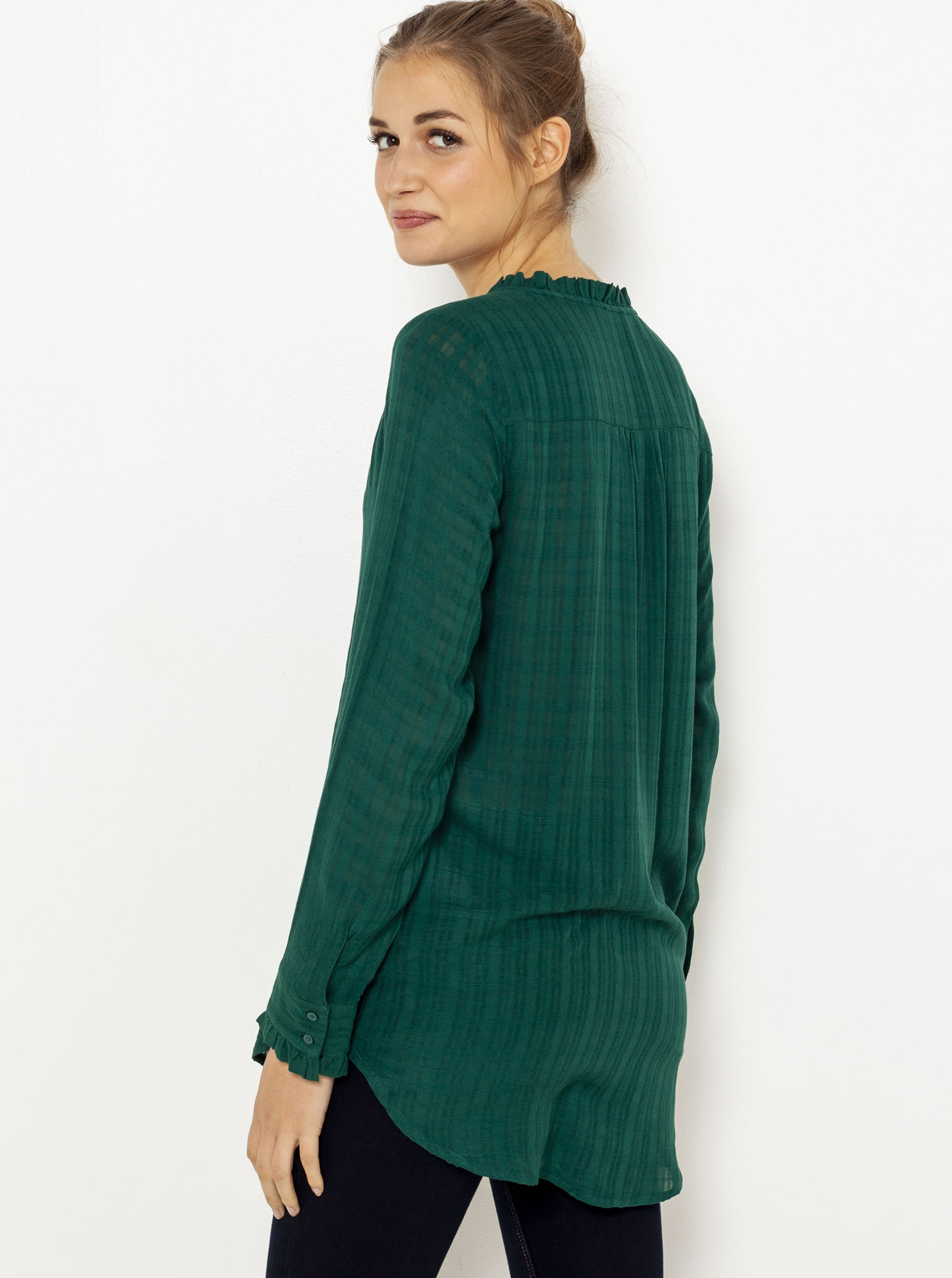 CAMAIEU green blouse