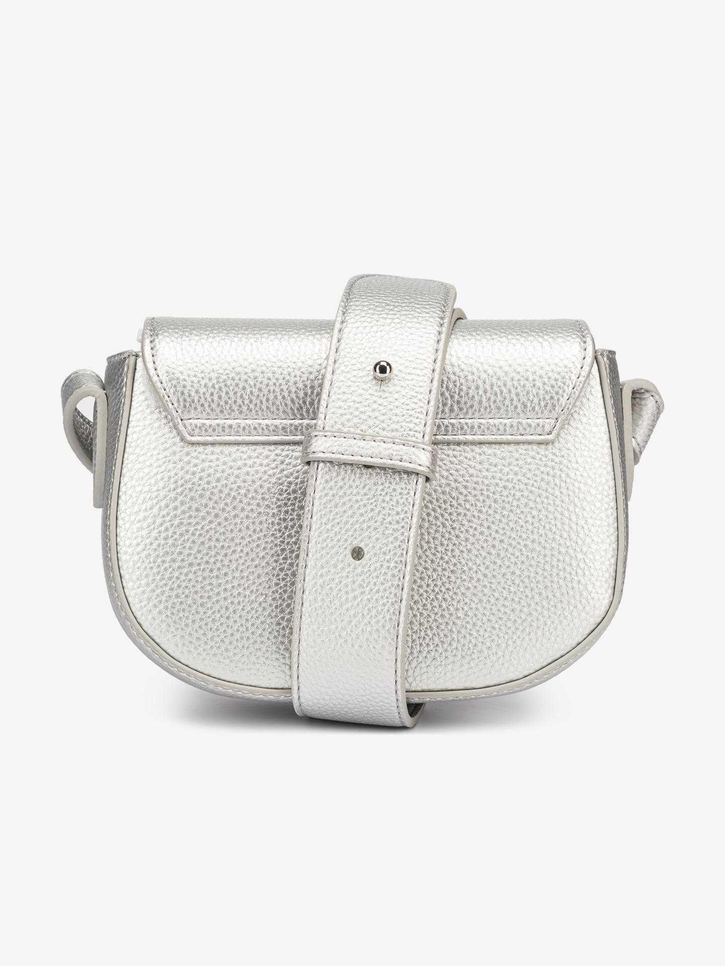 Armani Exchange silver handbag