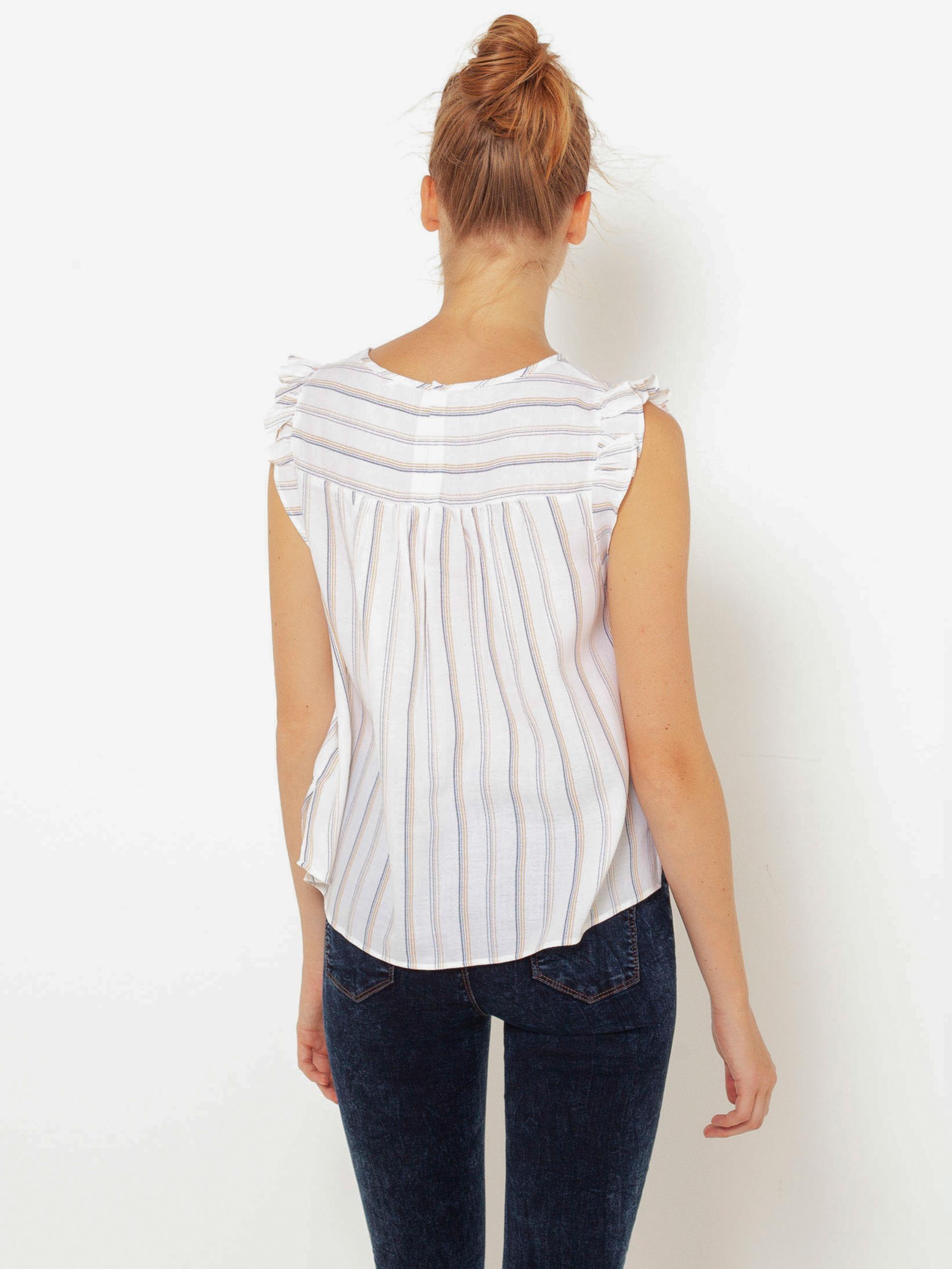 CAMAIEU white striped blouse