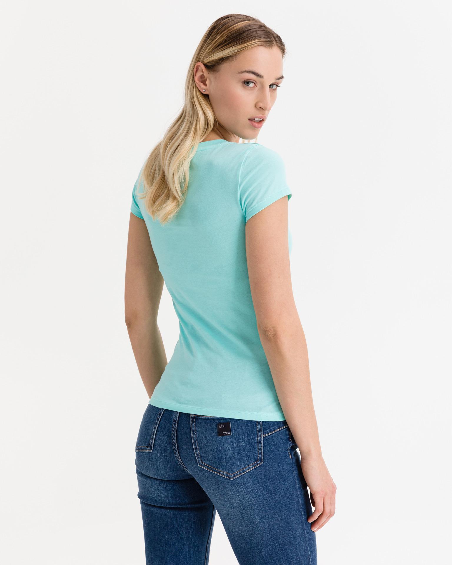 Armani Exchange blue women´s T-shirt
