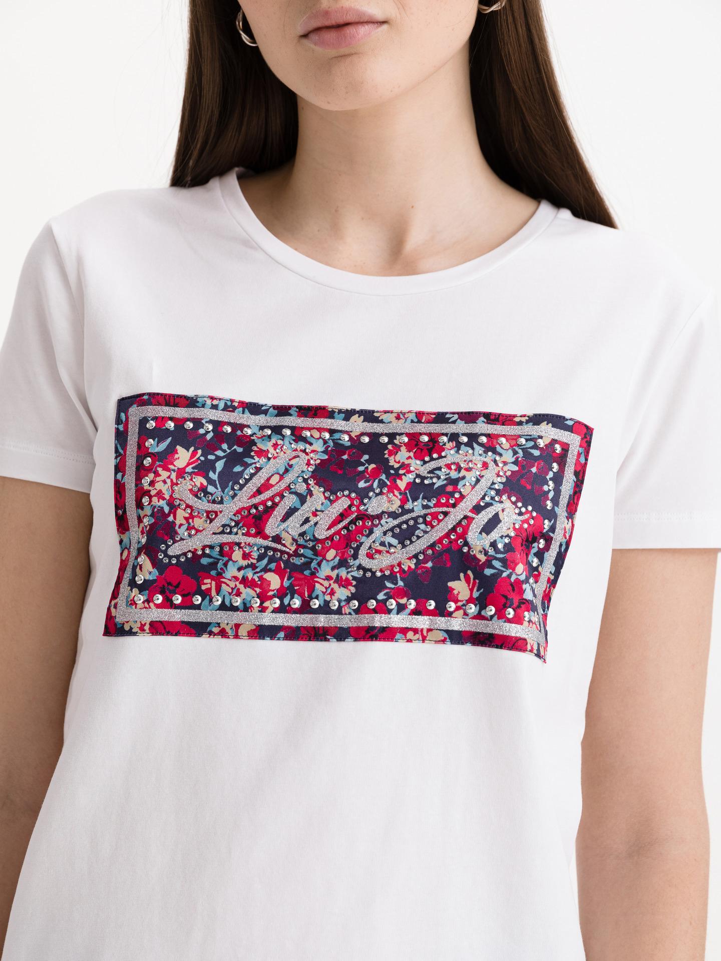 Liu Jo white women´s T-shirt