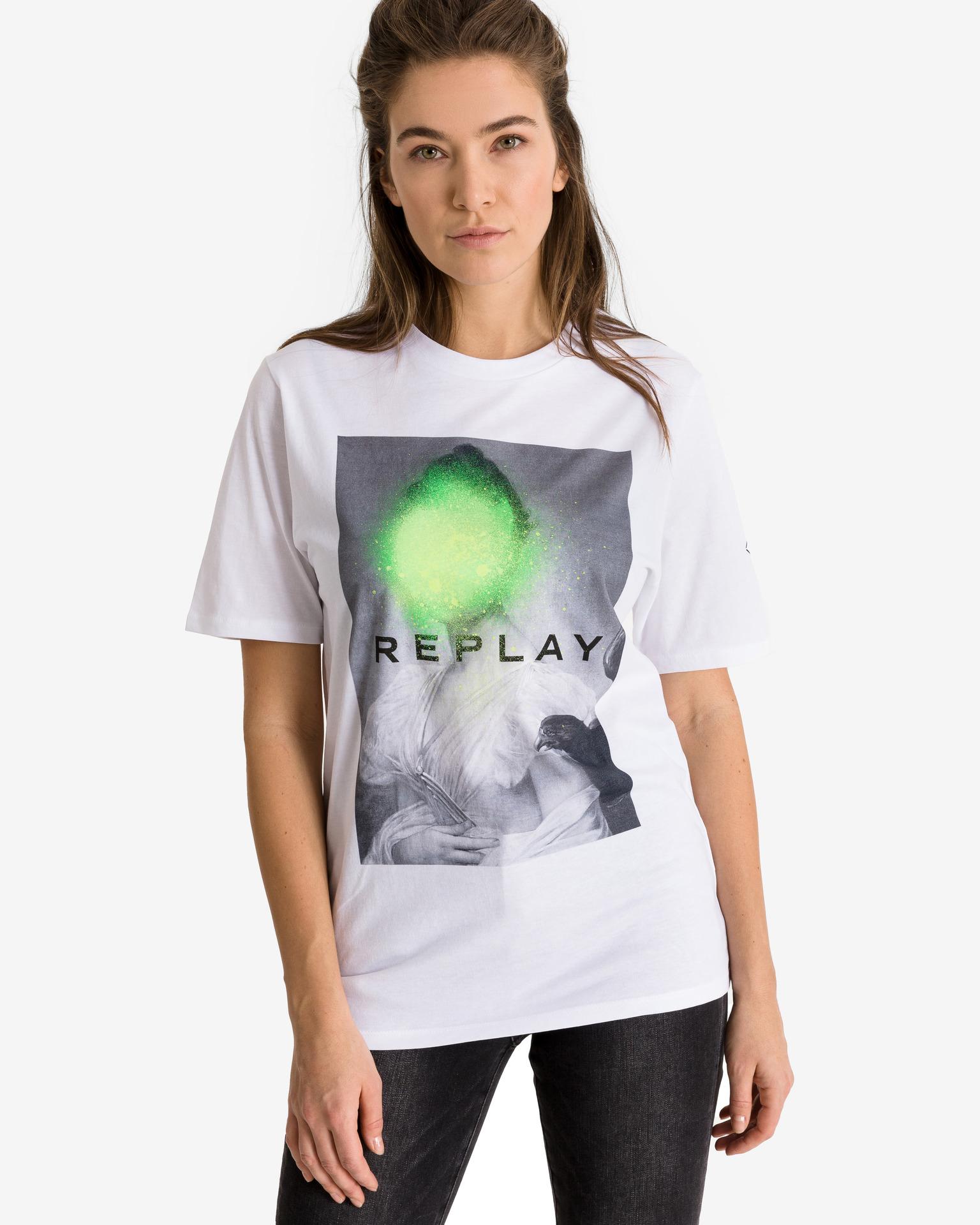 Replay Women's t-shirt white