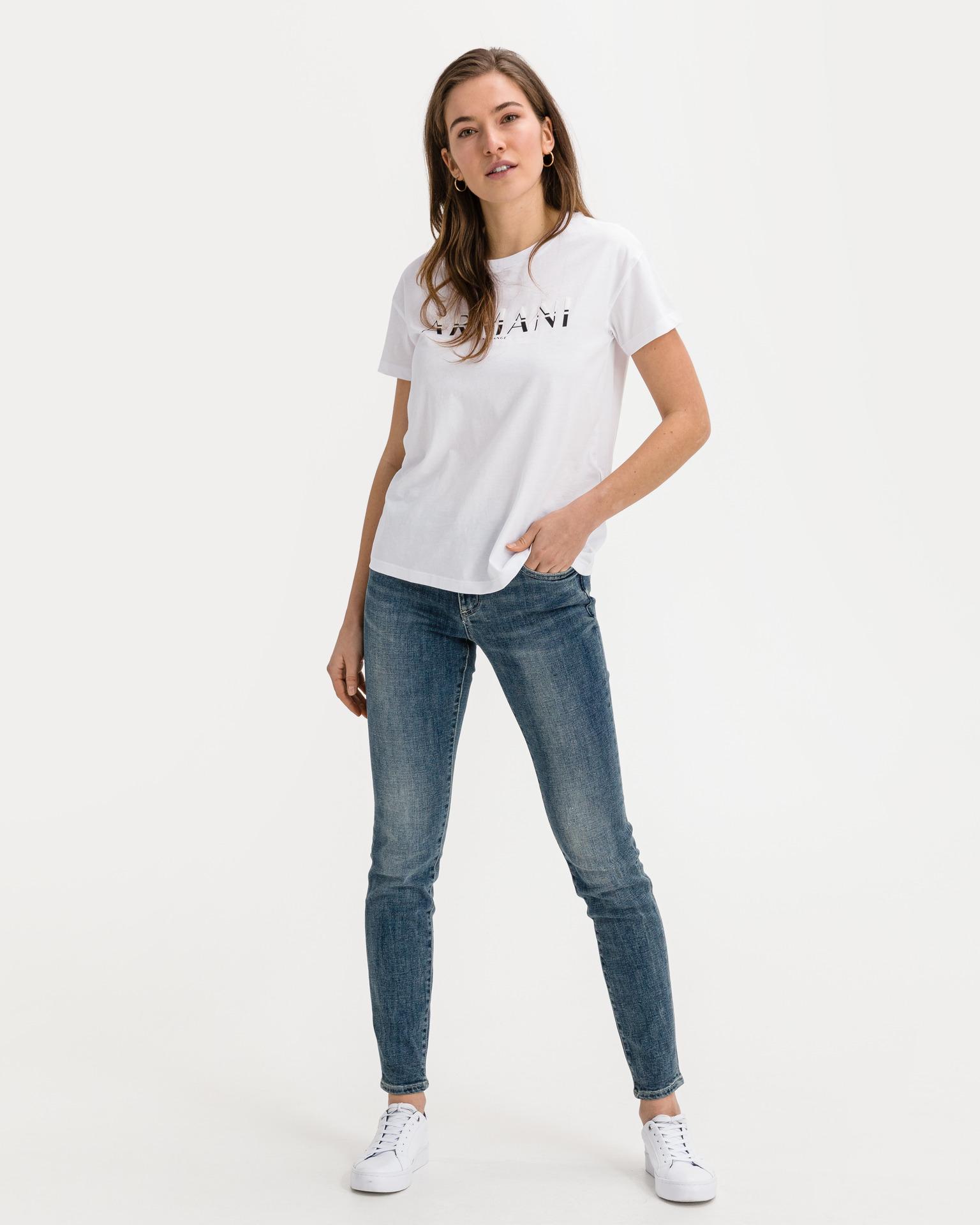 Armani Exchange white women´s T-shirt