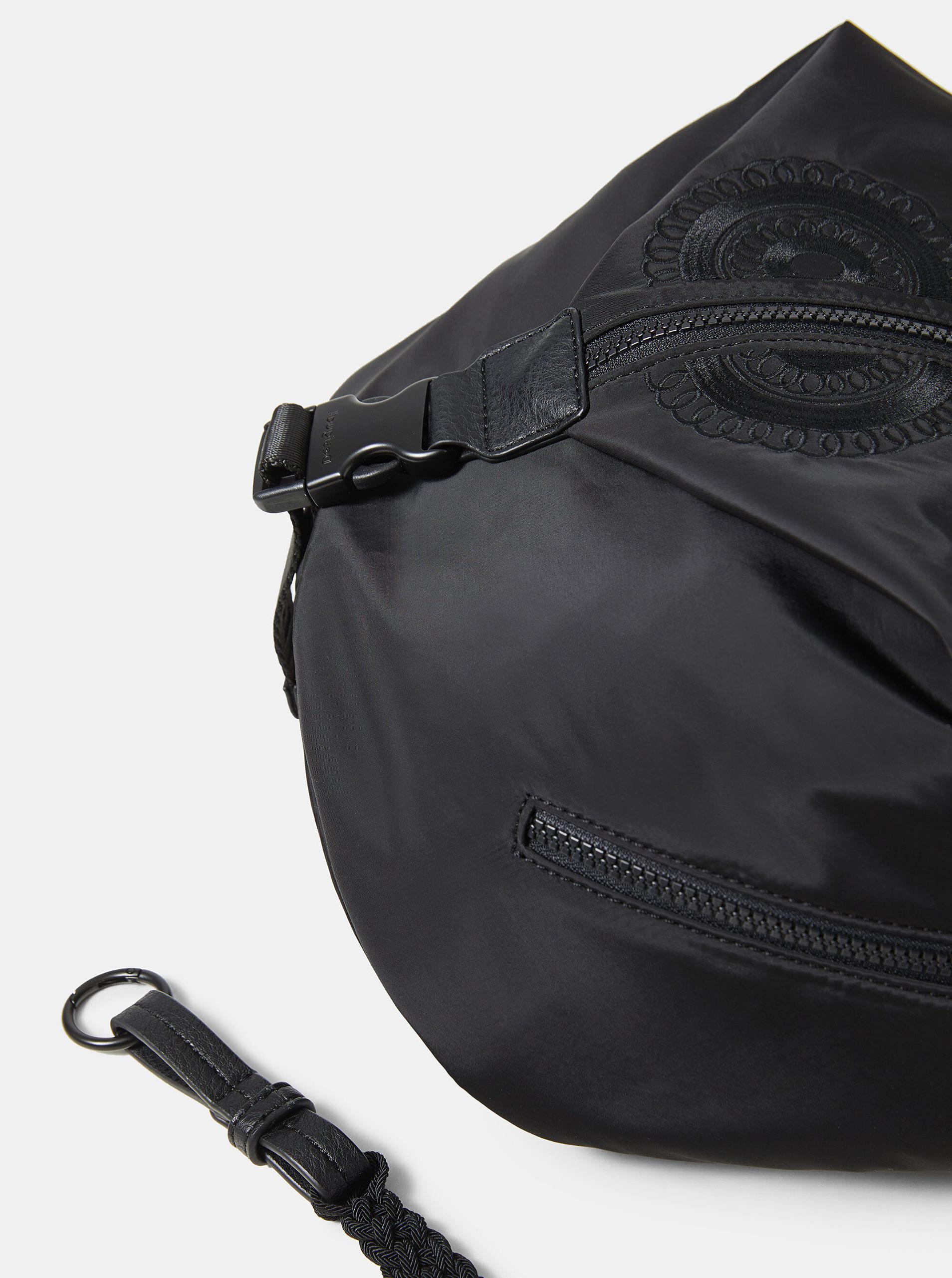 Desigual black backpack Mandarala Viana