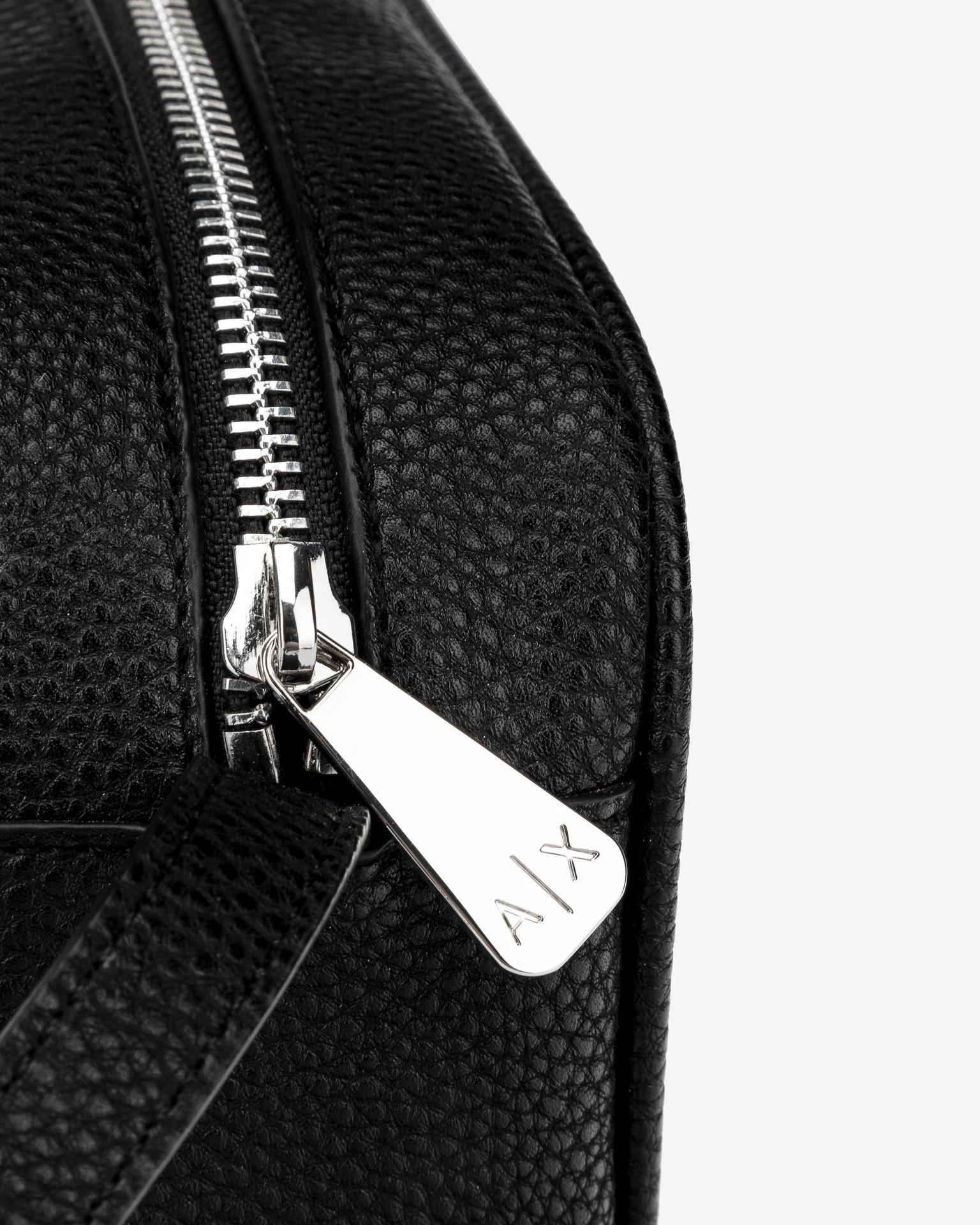 Armani Exchange black crossbody bag