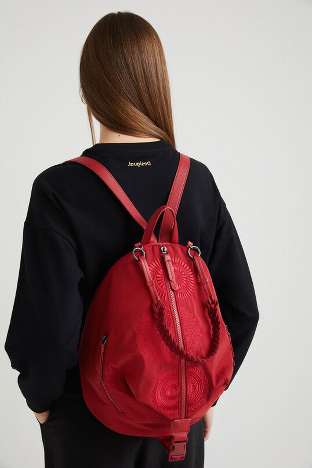 Desigual red backpack Mandarala Viana