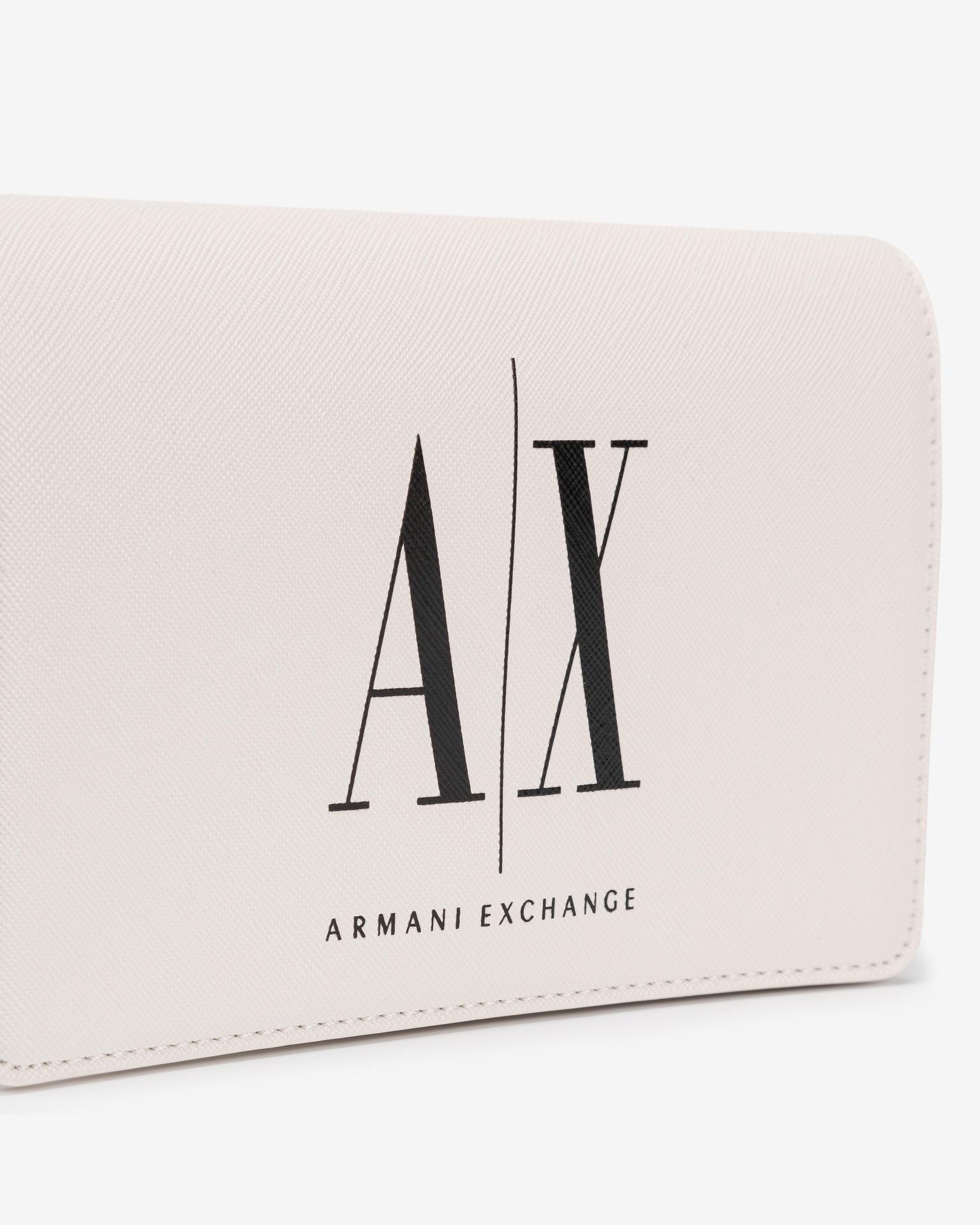 Armani Exchange white handbag