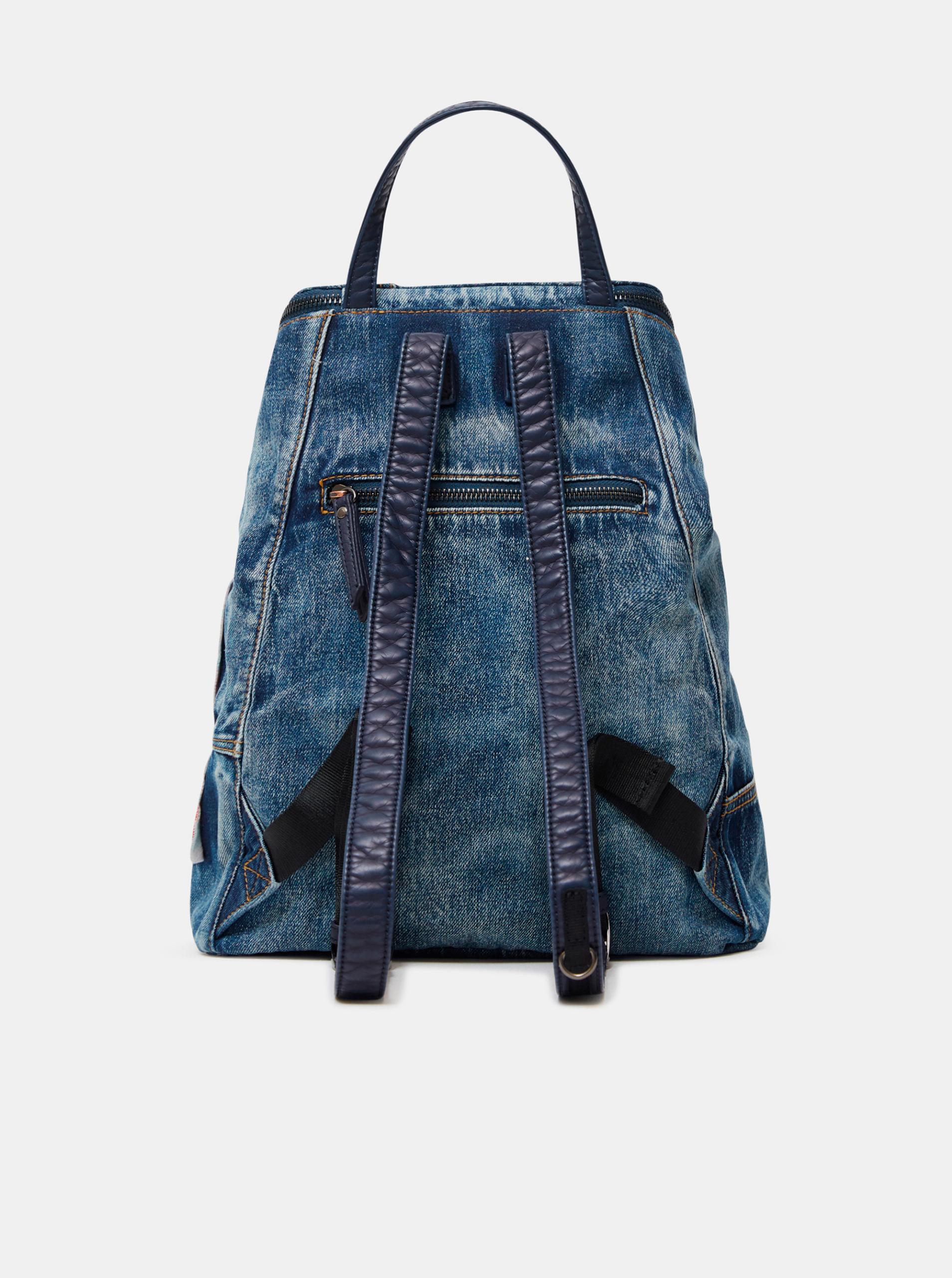 Desigual blue backpack Beta Patch Loen