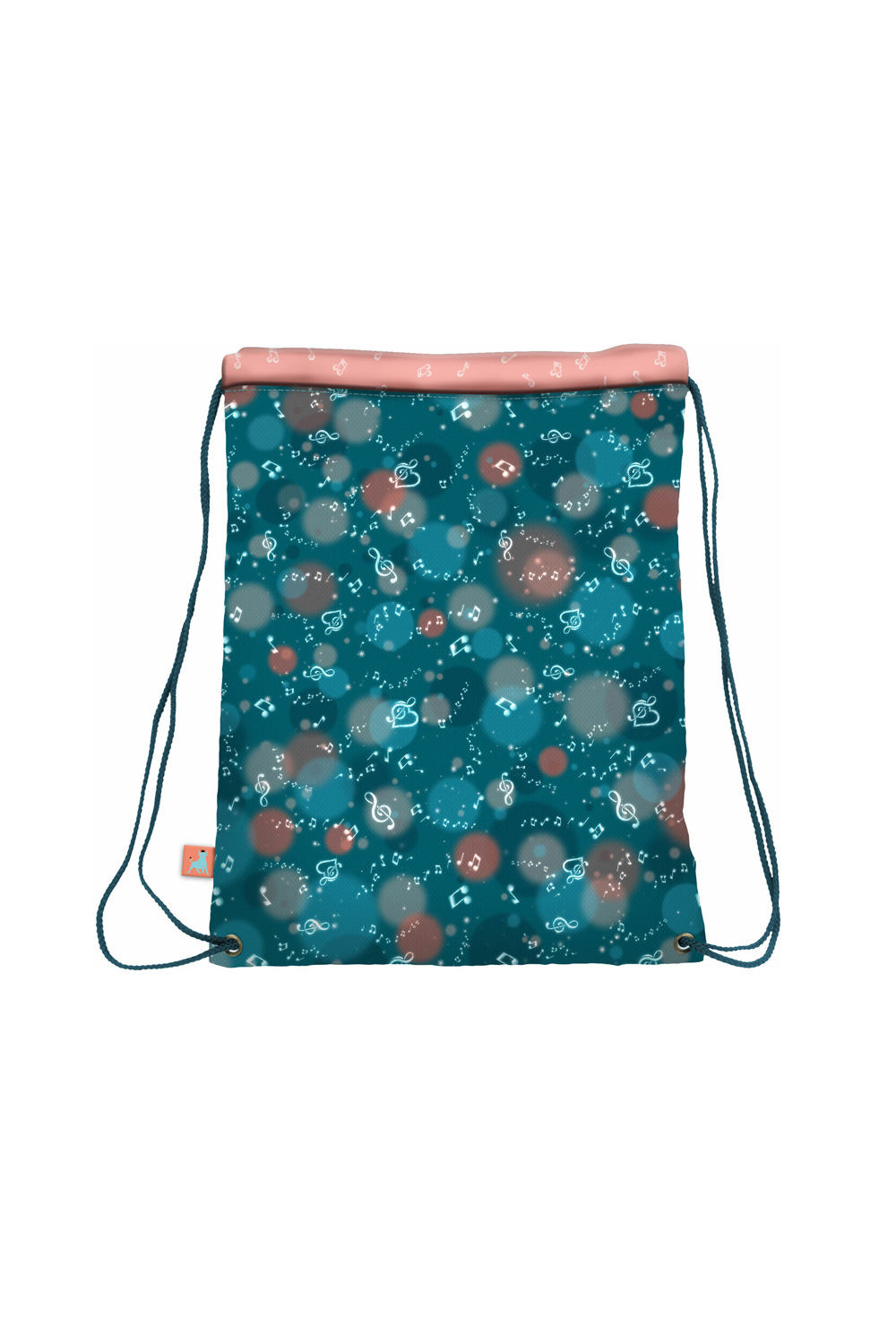 Santoro blue tighten drawstring bag Gorjuss Melodies This One´s For You