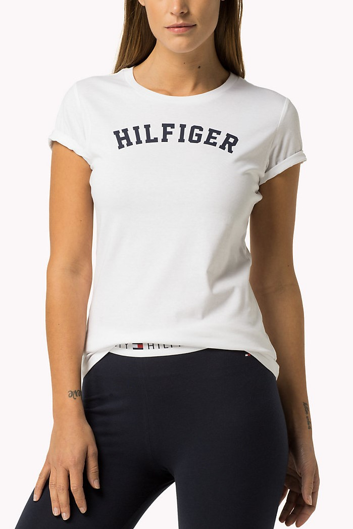 Tommy Hilfiger white Tee Print T-shirt