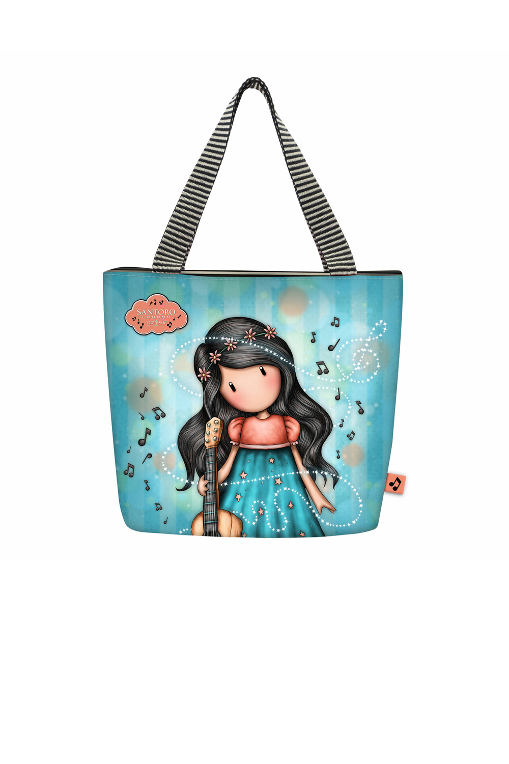 Santoro blue lunch bag Gorjuss Melodies This One´s For You ...