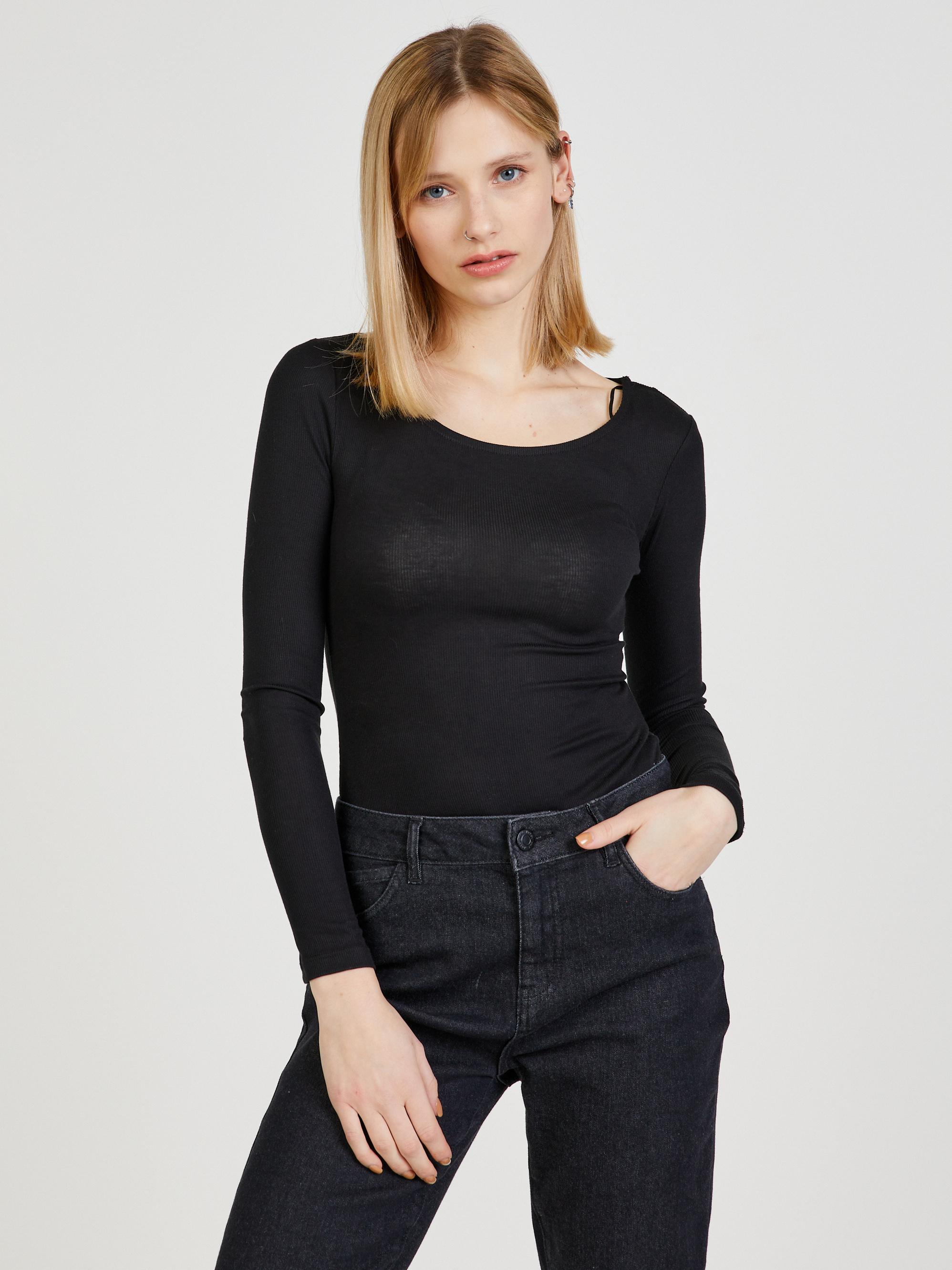 CAMAIEU black basic T-shirt