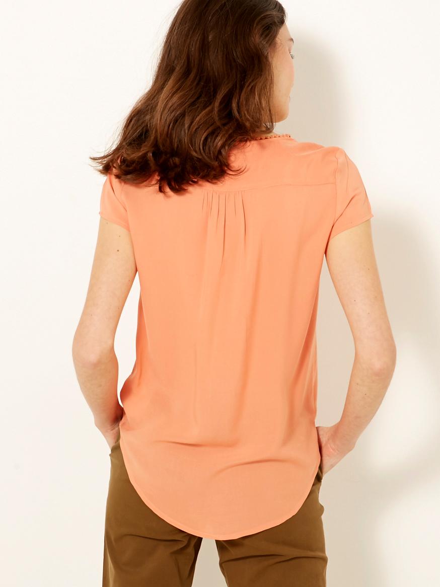 CAMAIEU Women's blouse apricot