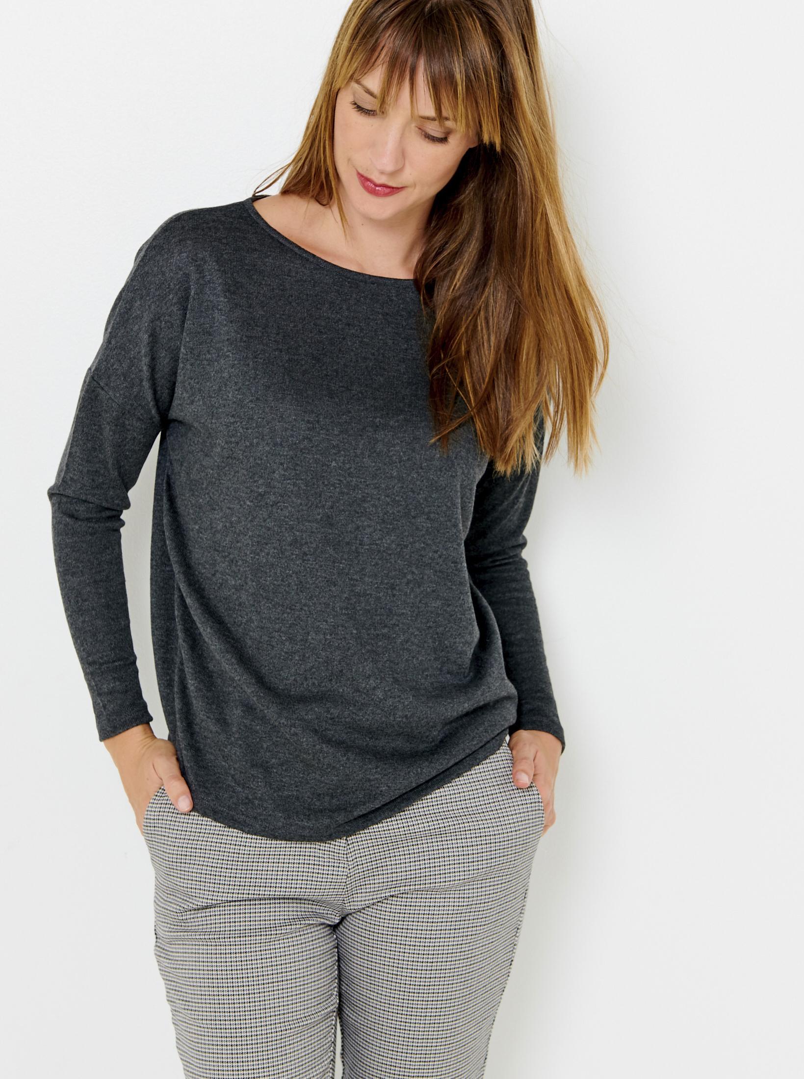 CAMAIEU grey T-shirt