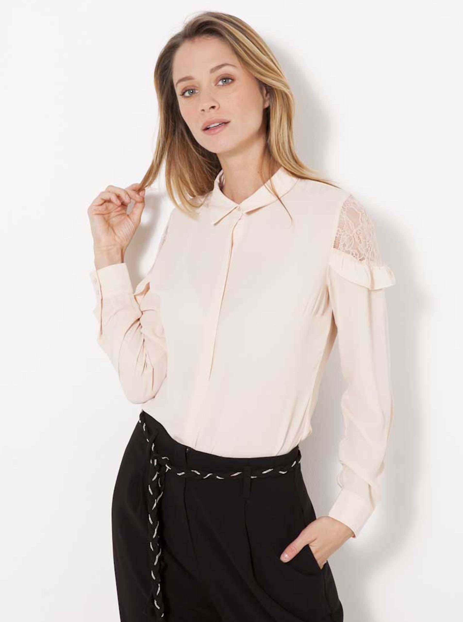CAMAIEU Women's blouse creamy