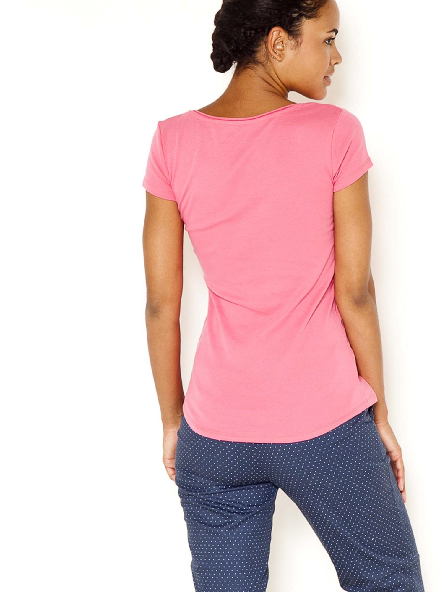 CAMAIEU Women's t-shirt pink