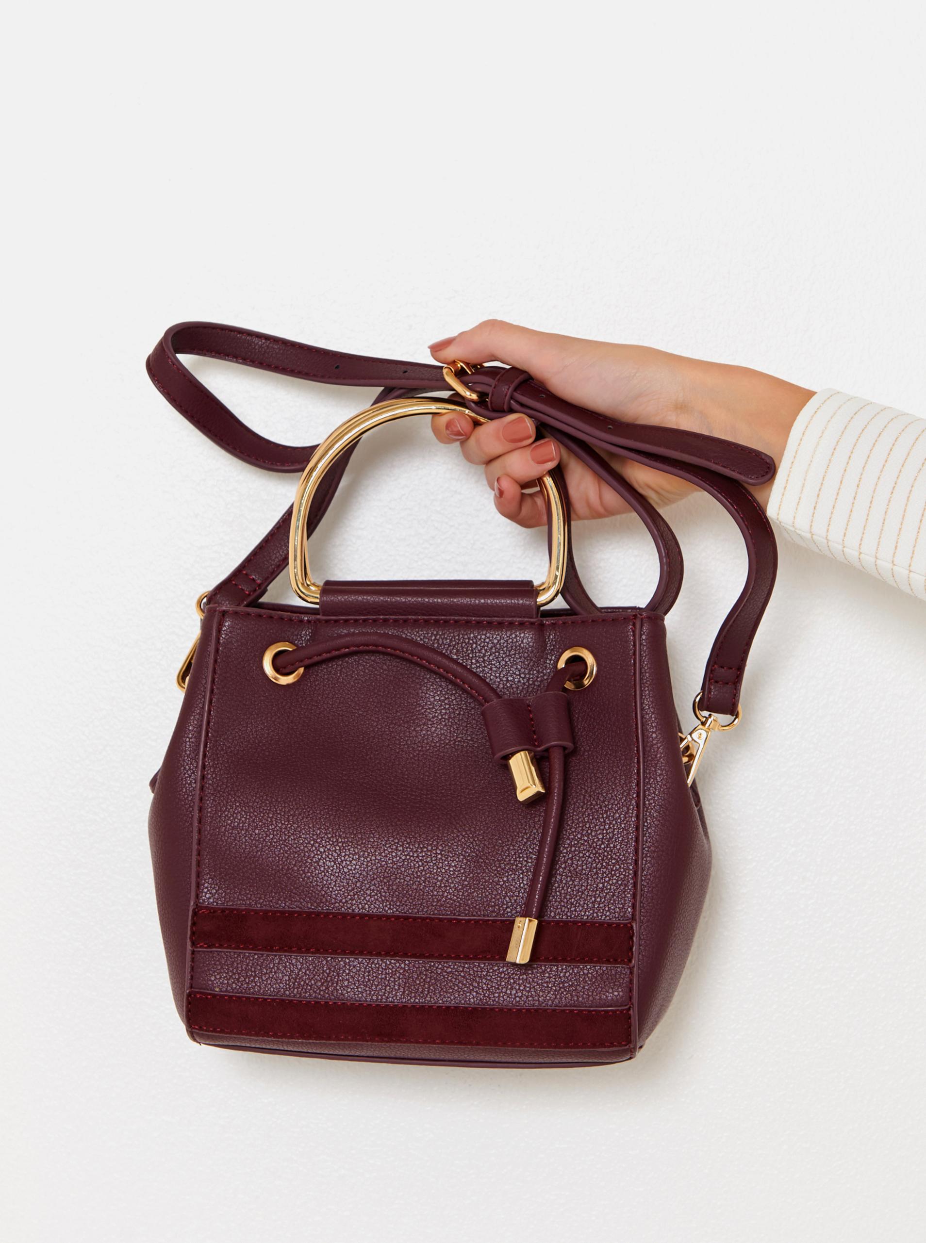 CAMAIEU Women's bag wine red