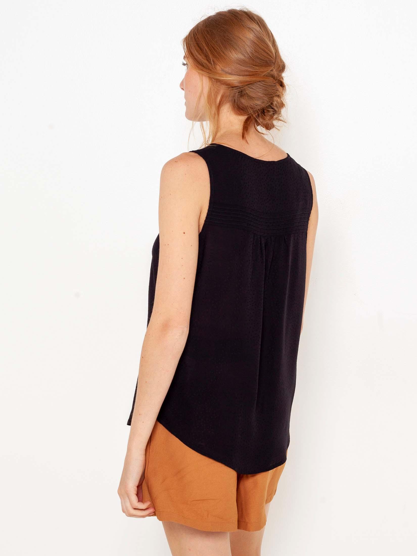 CAMAIEU Women's blouse black