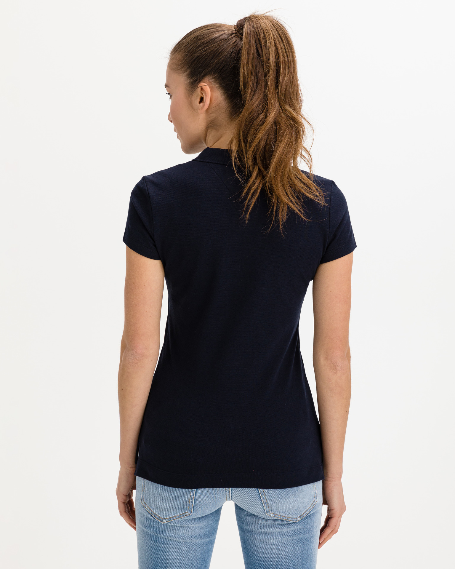 Tommy Hilfiger blue women´s T-shirt Crystal Polo
