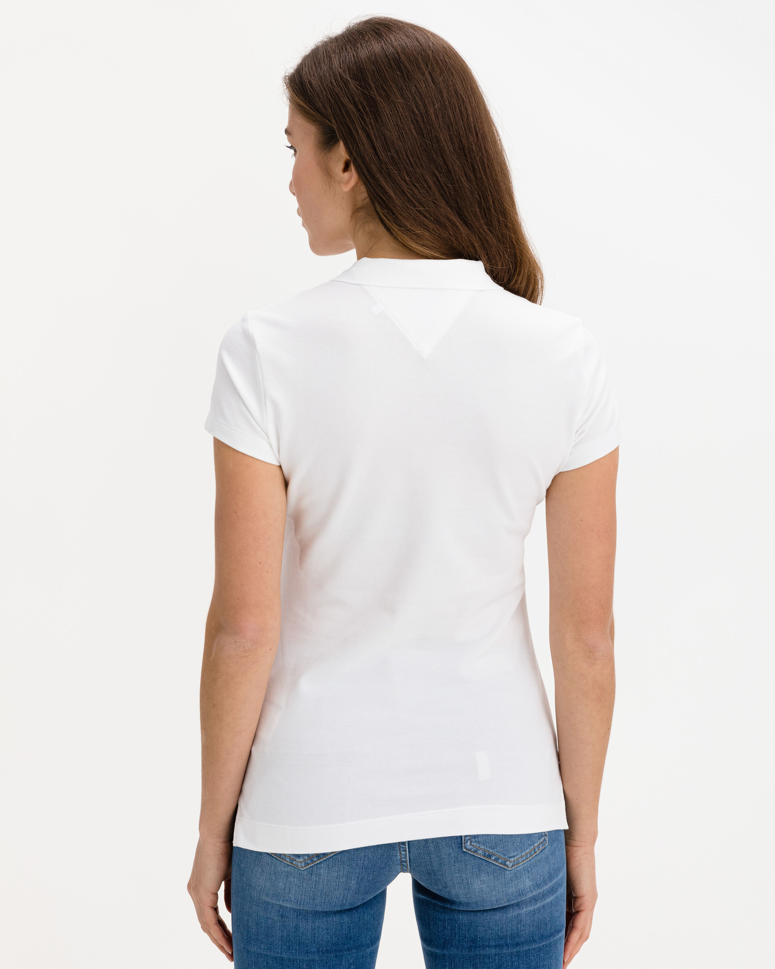 Tommy Hilfiger white women´s T-shirt Crystal Polo