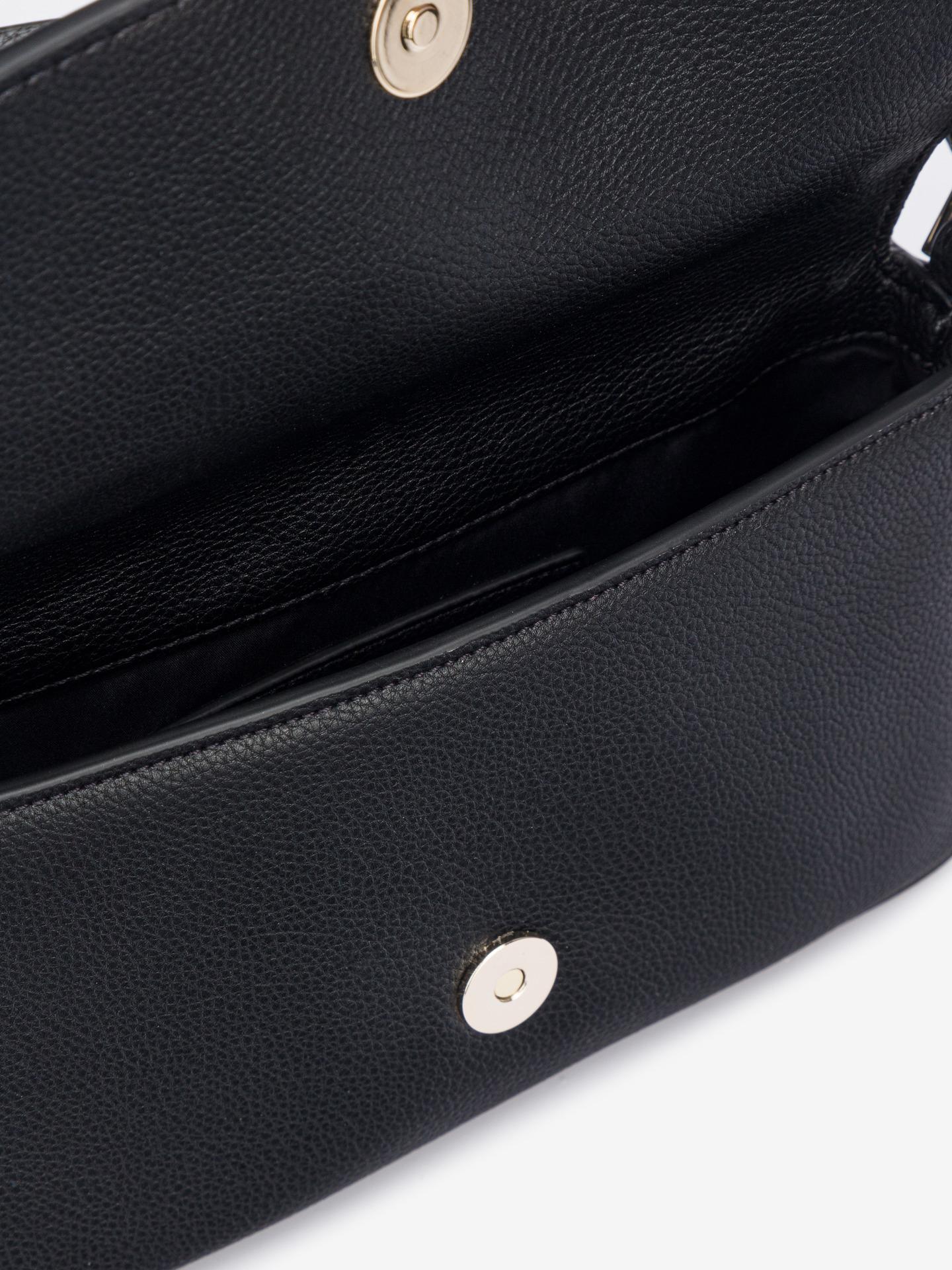 Calvin Klein black crossbody handbag Ew Flap
