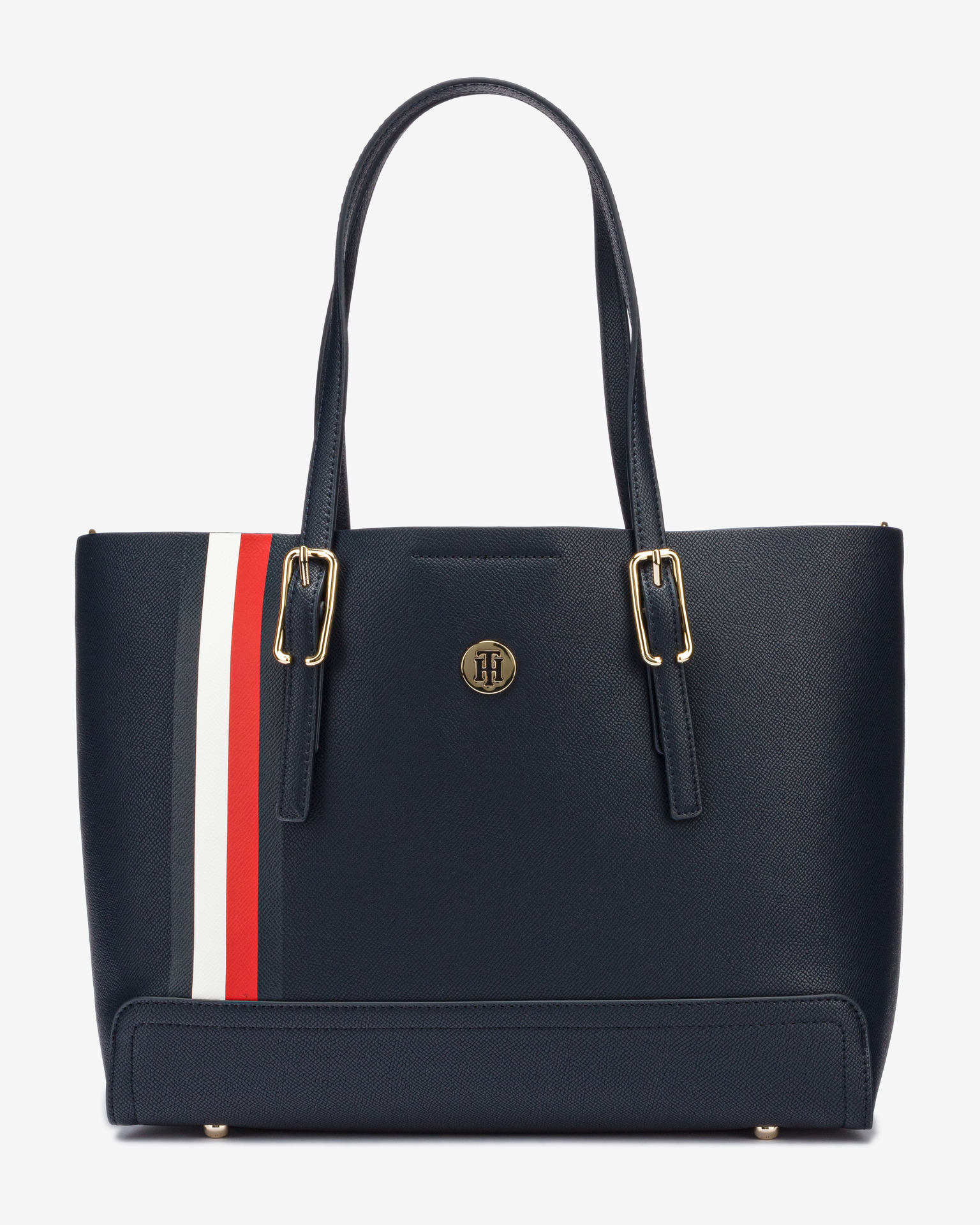 Tommy Hilfiger blue handbag Medium Monogram Signature