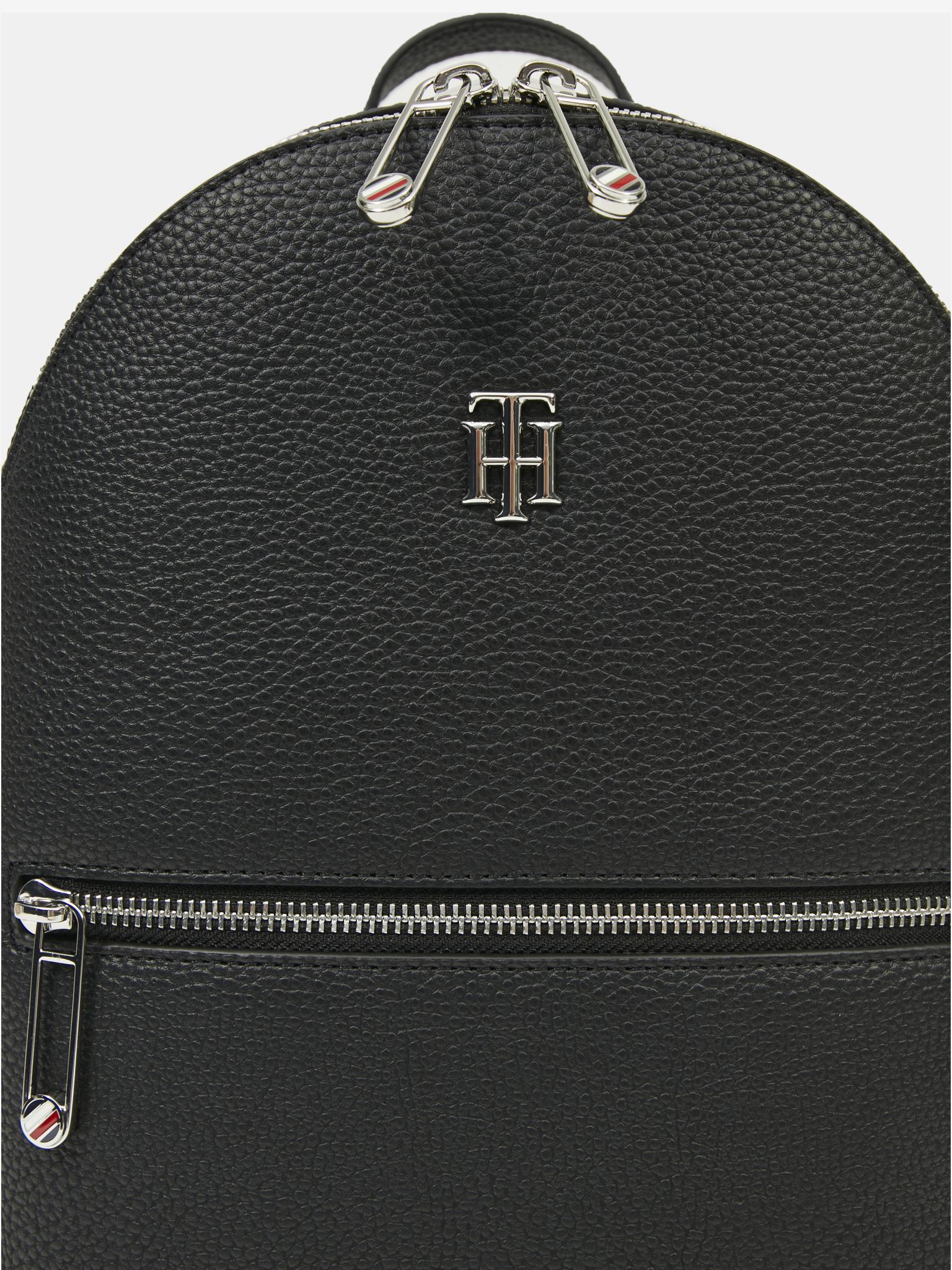 Tommy Hilfiger black backpack Element