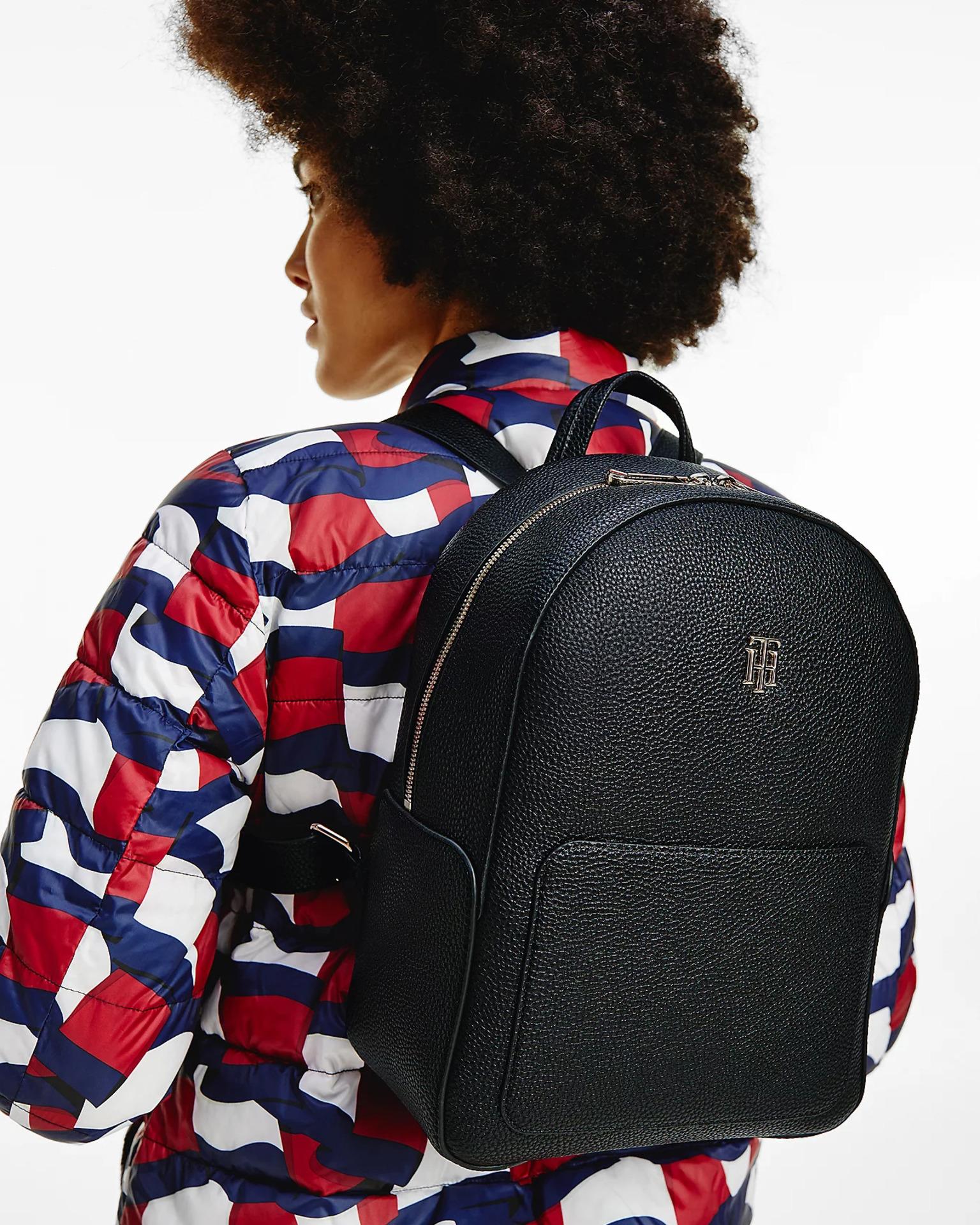 Tommy Hilfiger black backpack Essence