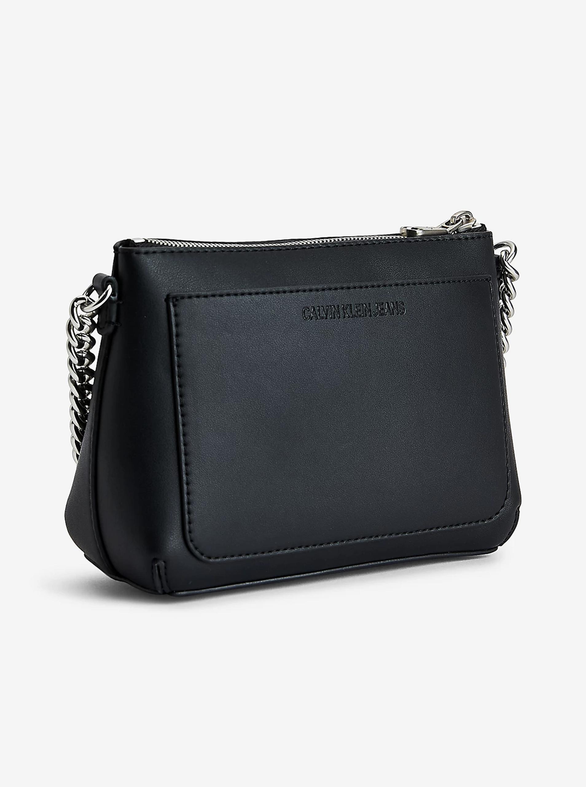 Calvin Klein black crossbody handbag